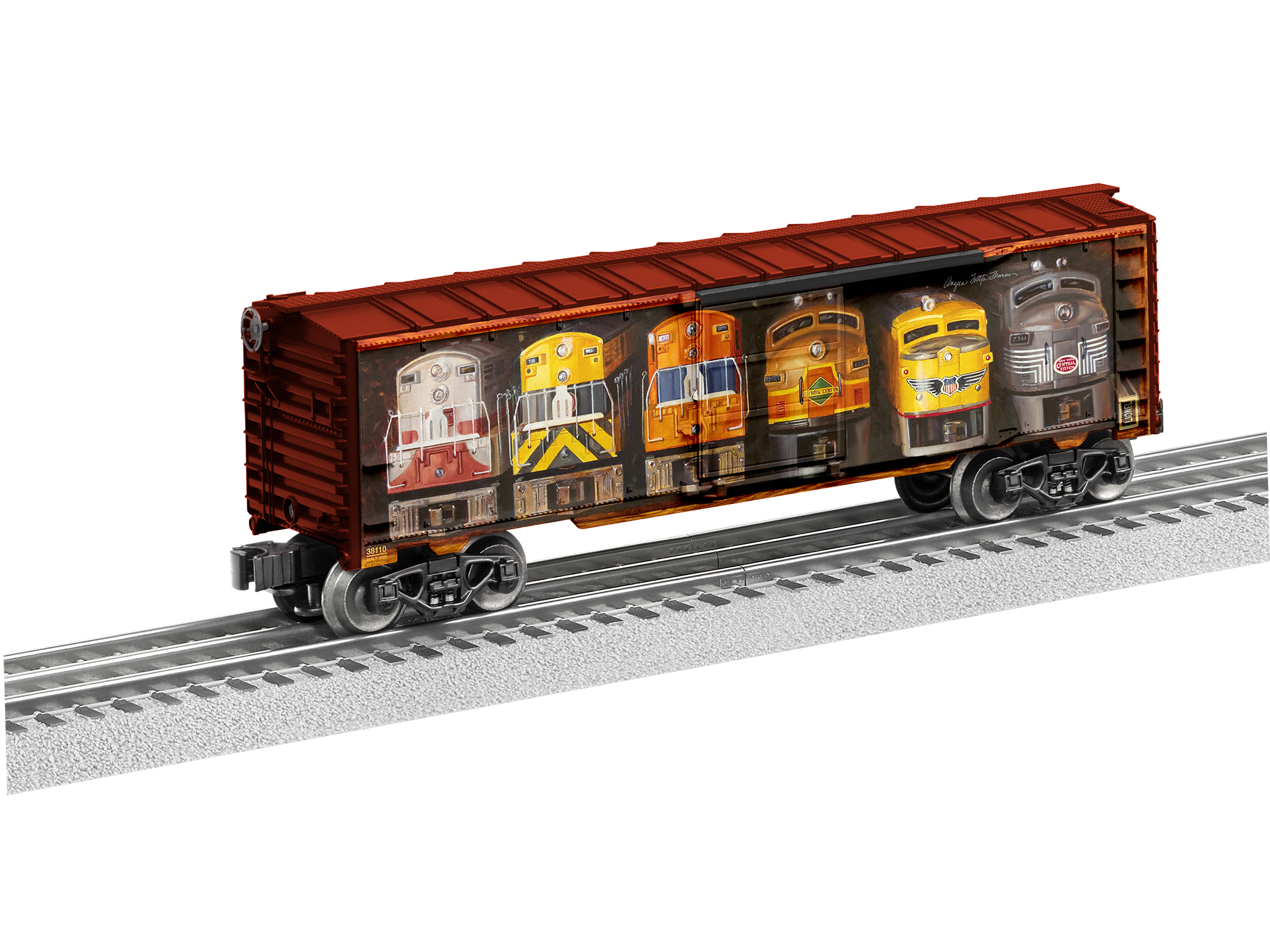 Lionel 2038110 O Boxcar 3-Rail RTR Angela Trotta Thomas Well Stocked Shelves Middle Shelf 434-2038110