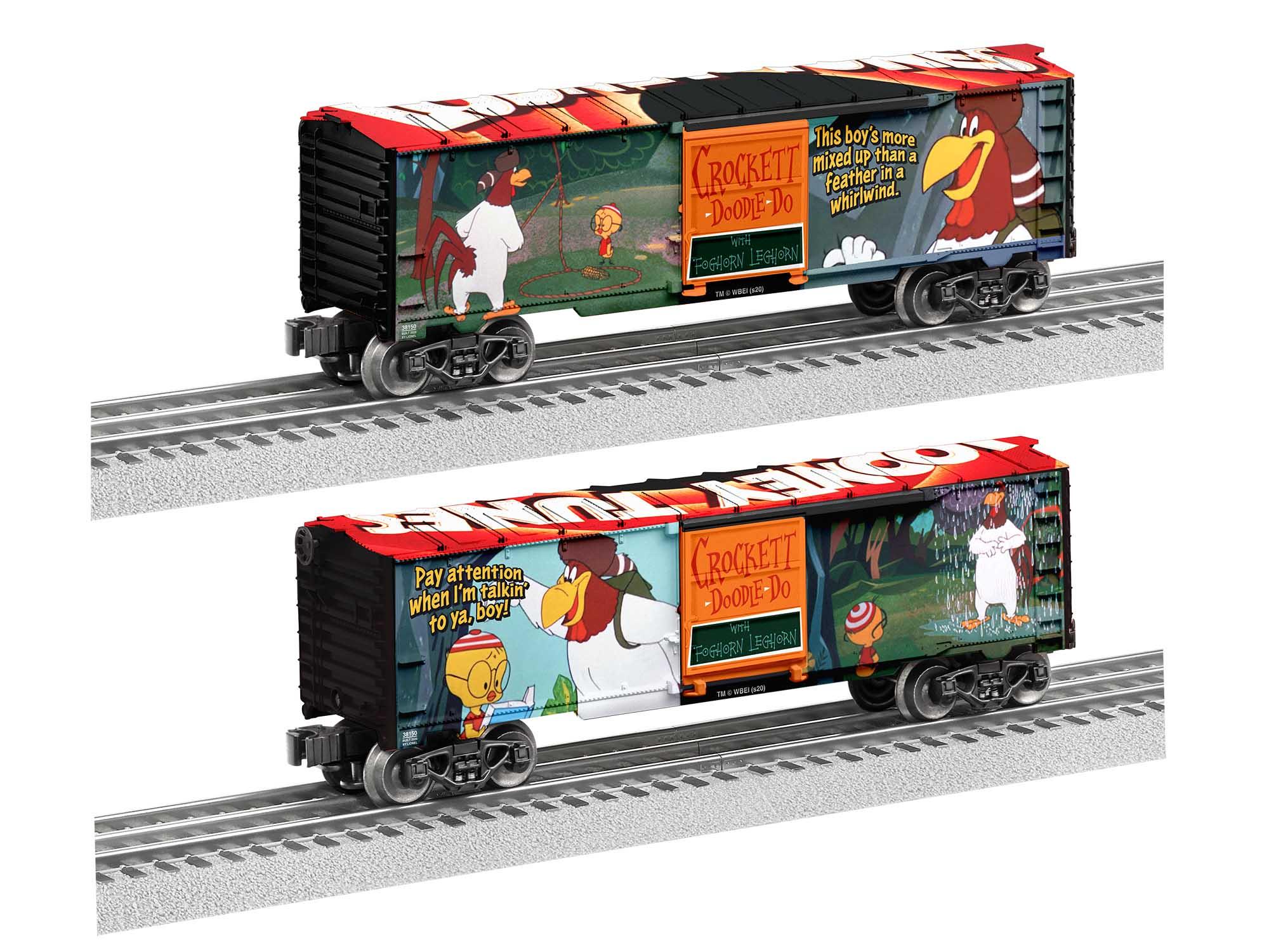Lionel 2038150 O27 Boxcar Foghorn Leghorn
