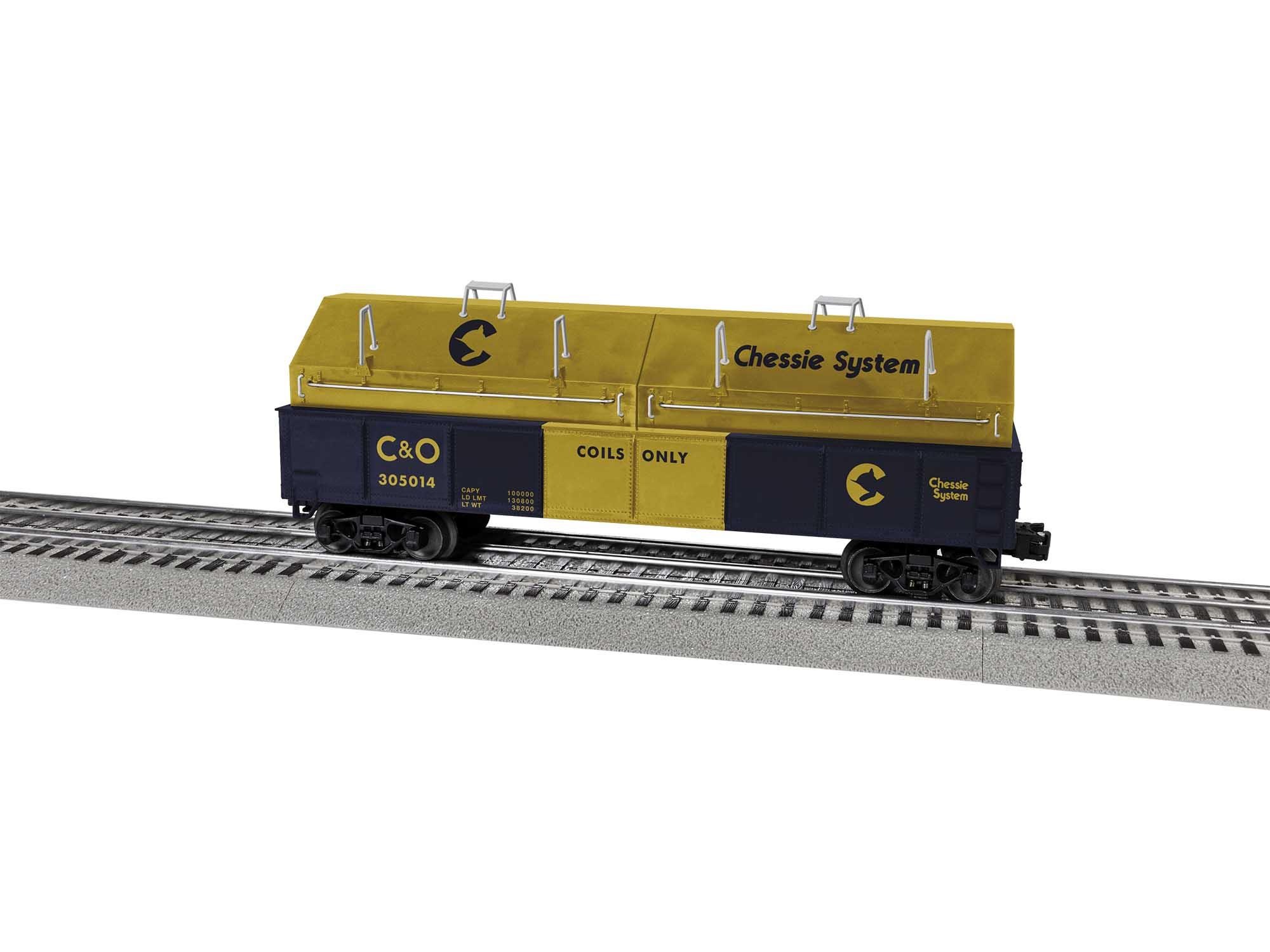 Lionel 2043142 O Gondola Chessie System #305014