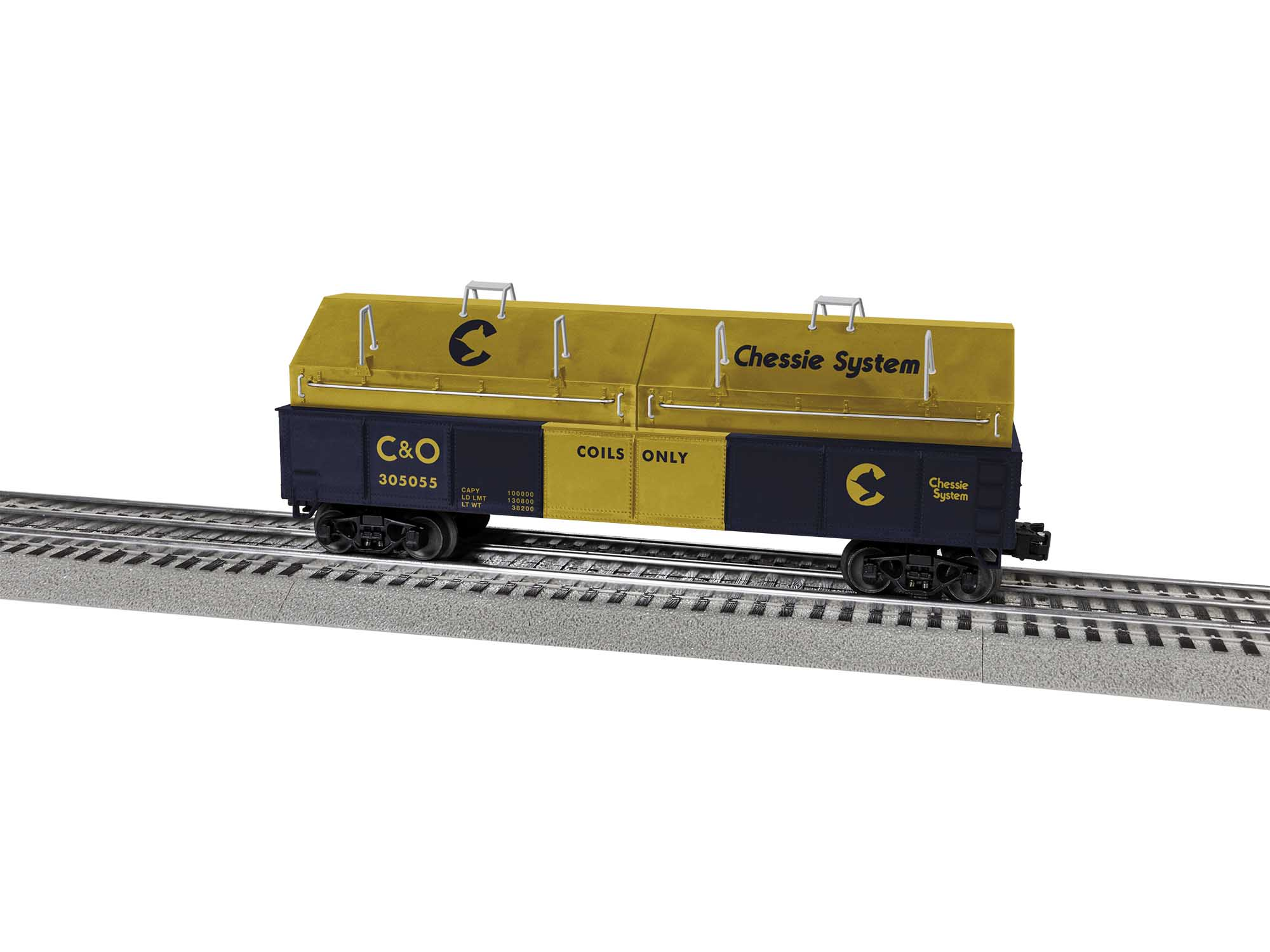 Lionel 2043144 O Gondola Chessie System #305055