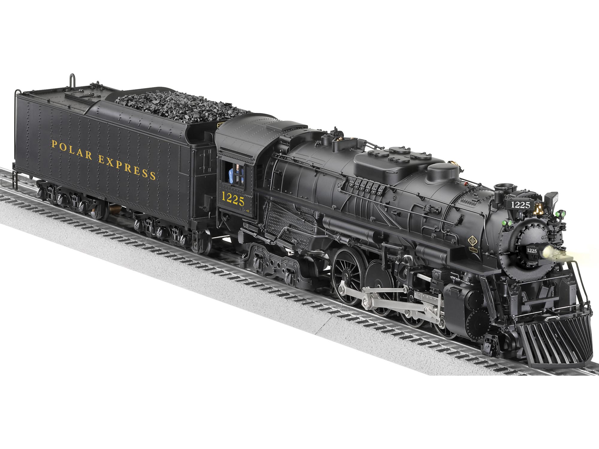 The Polar Express 10th Anniversary Scale Berkshire Locomotive 1225 – Lionel Legacy Wiring