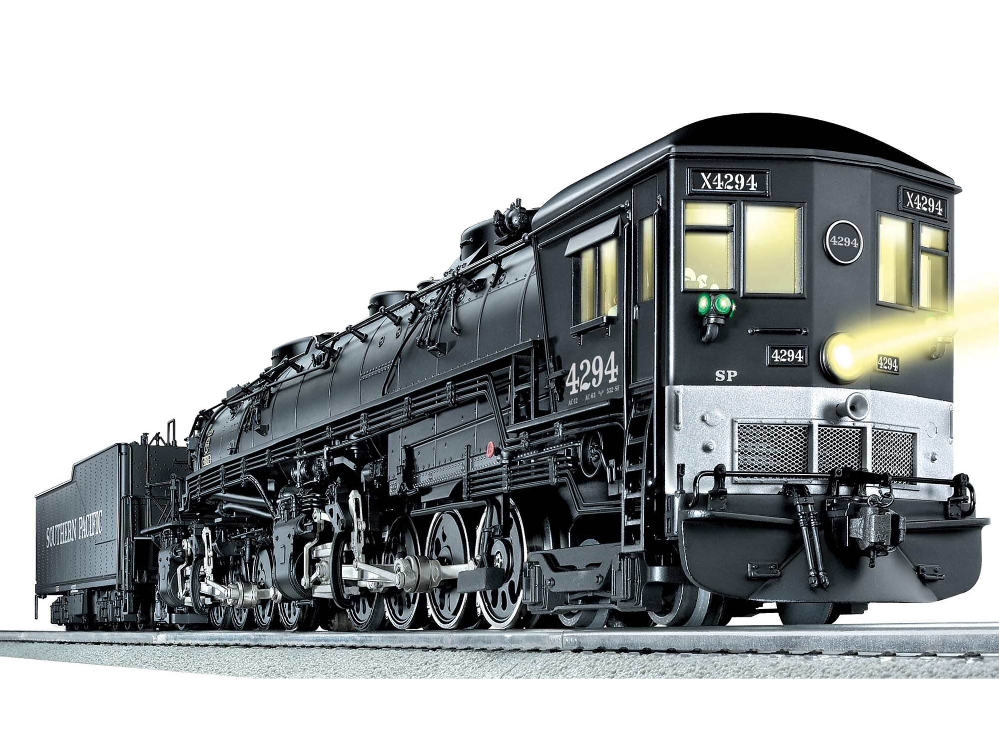 Southern Pacific Legacy Scale Ac 12 Cab Forward 4 8 8 2