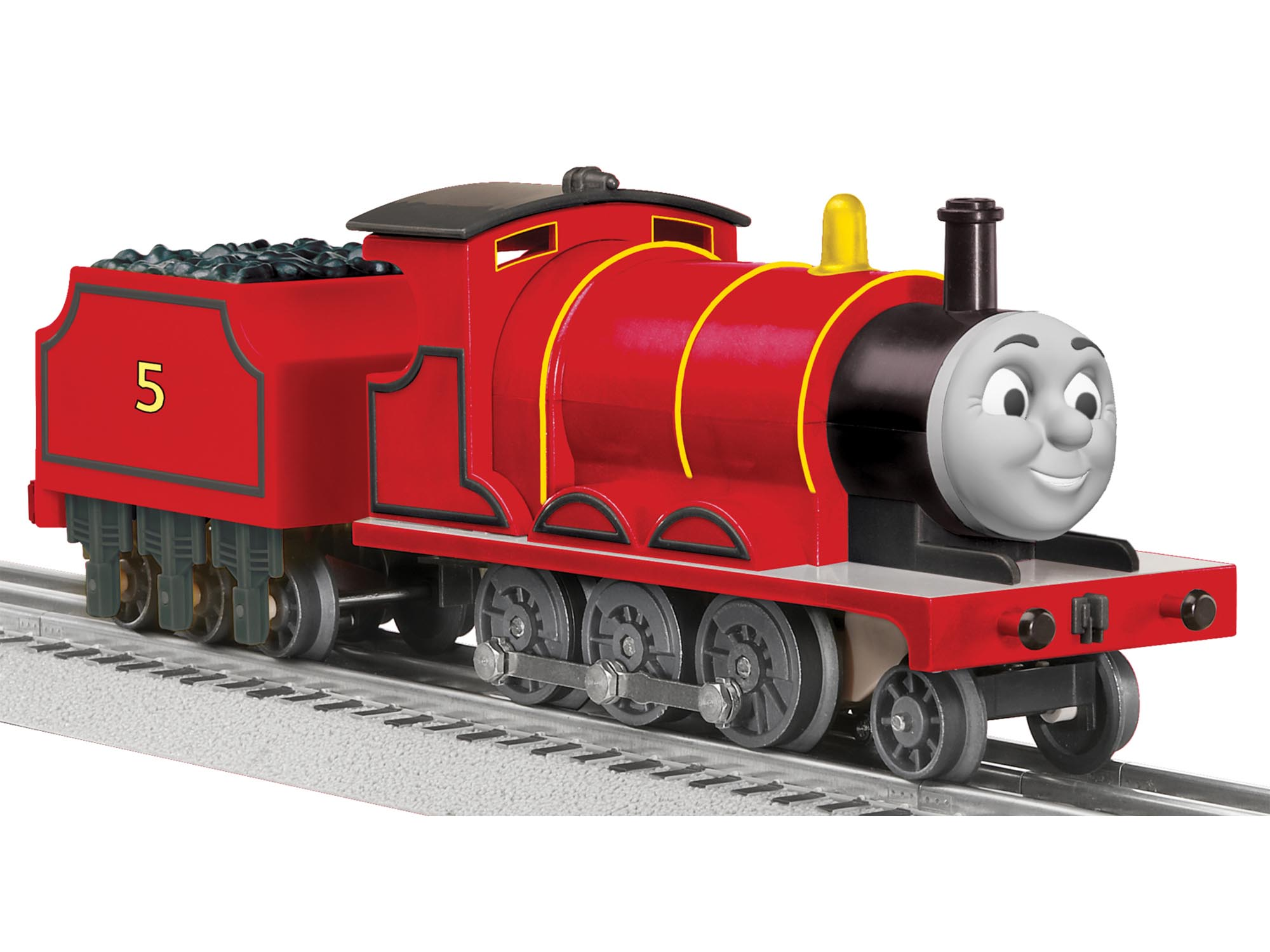 Thomas Friends James Steam Locomotive With LionChief Remote System