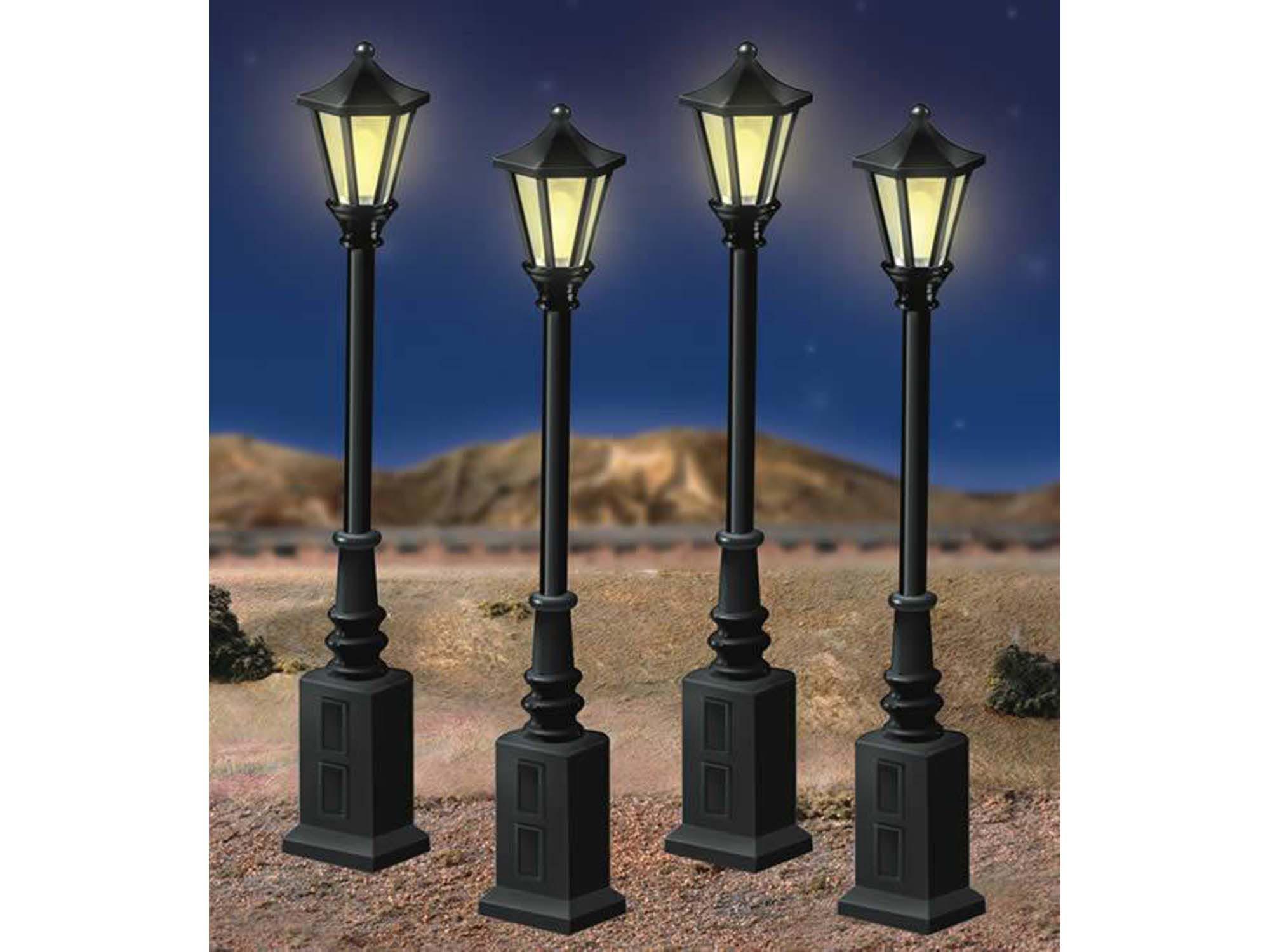 scale street lamps rh lionel com Lionel Lights Lionel Crossing Signal