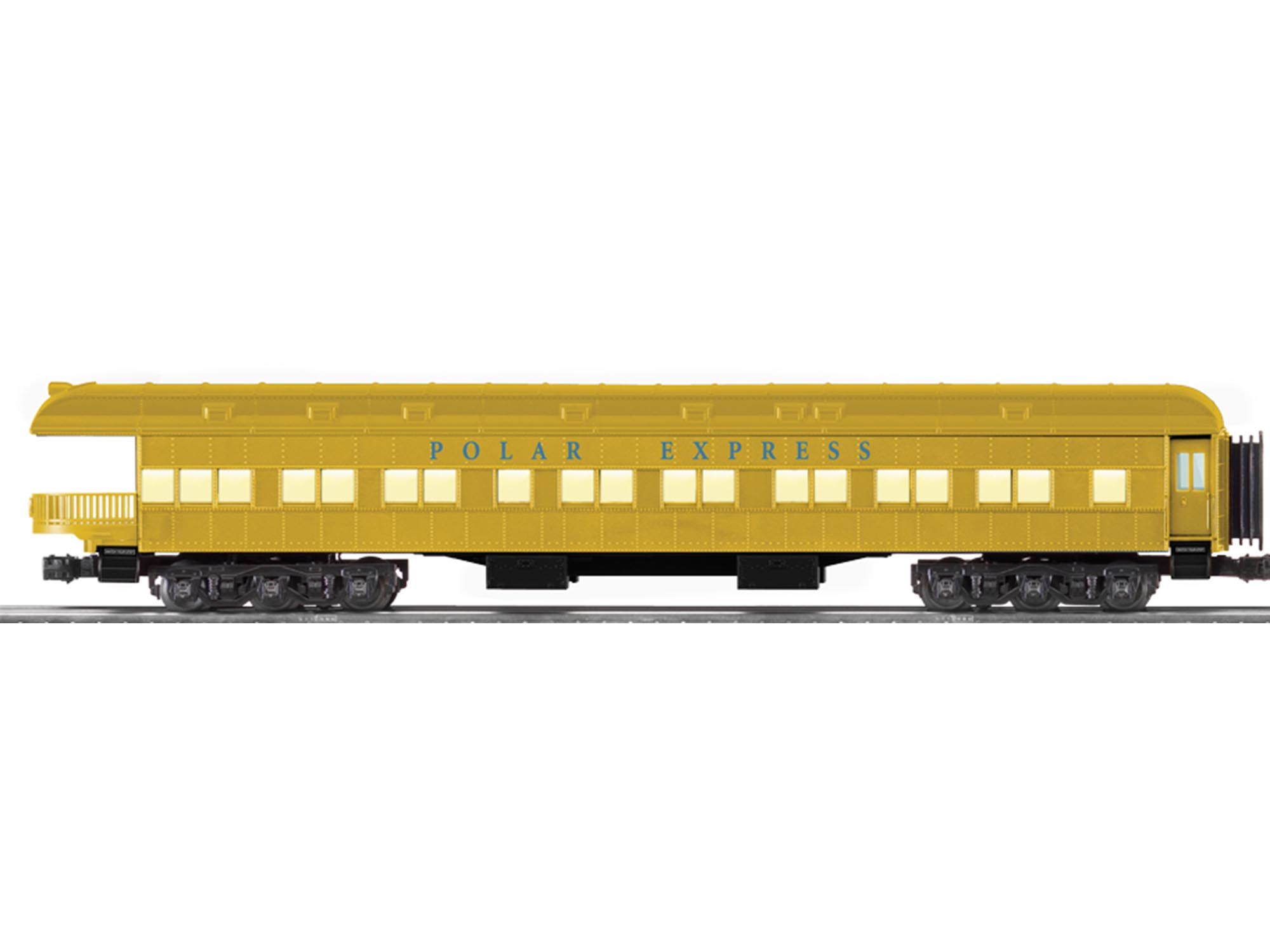 The Polar Express Heavyweight Scale Gold Edition Observation Car