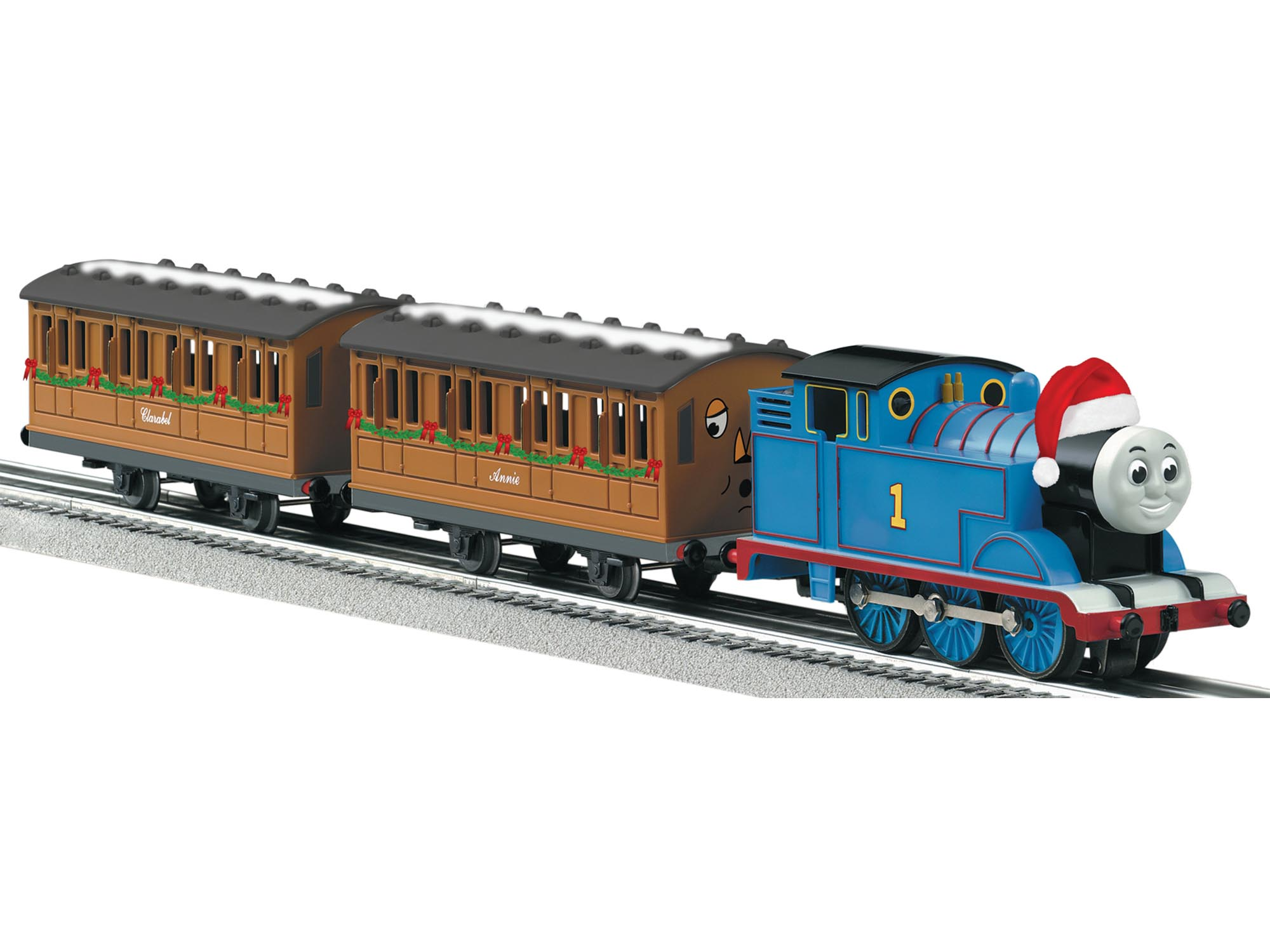 Thomas Christmas Train Set.Thomas Friends Christmas Set With Lionchief Remote And