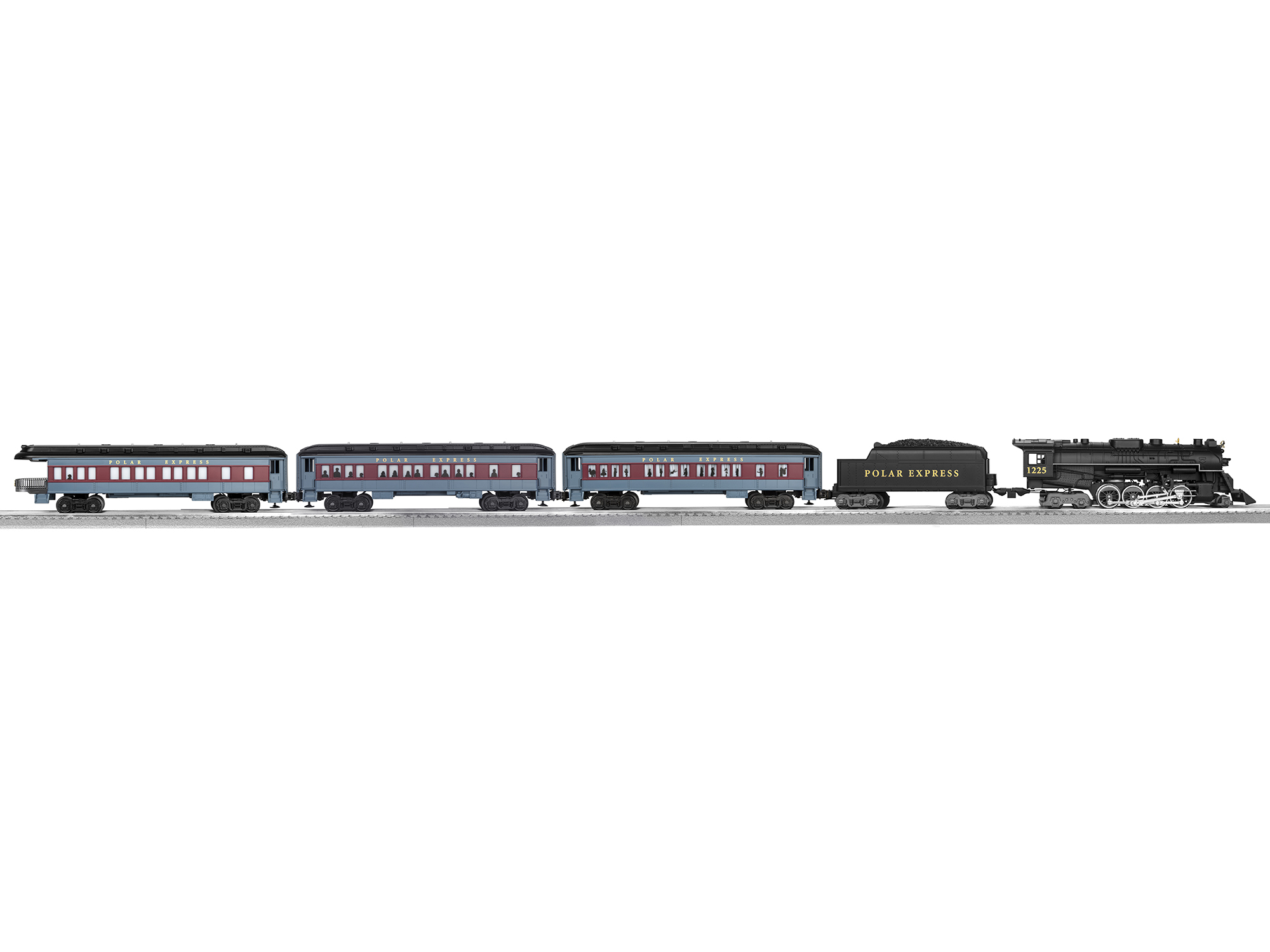 The Polar Express™ O Gauge Set with LionChief Remote and RailSounds RC