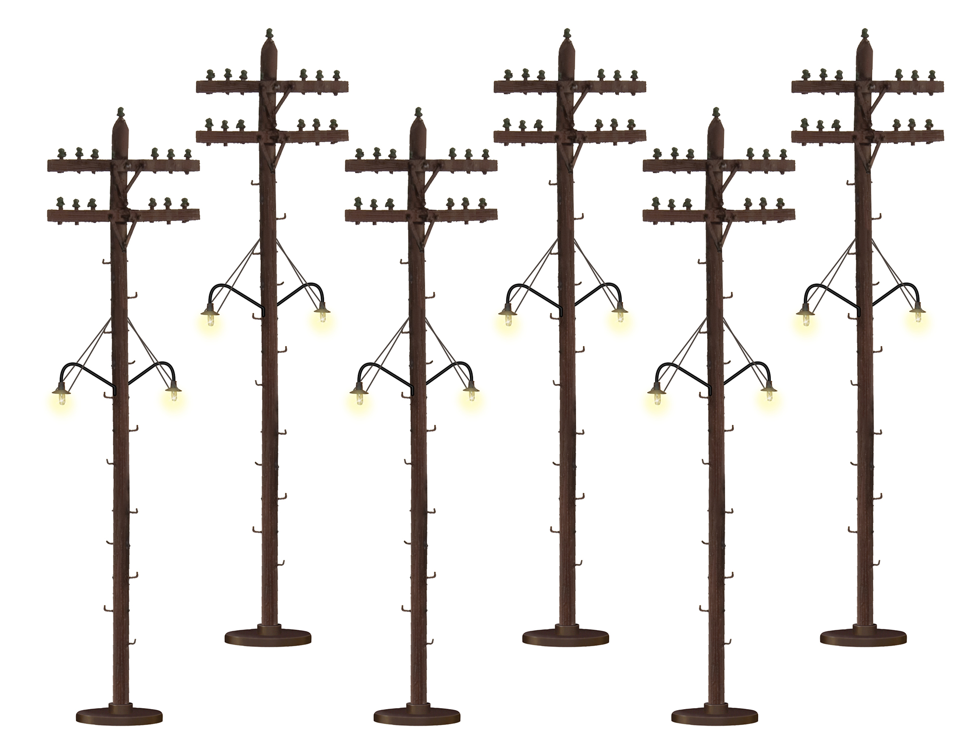 Lionel 637995 O Telephone Pole Lighted 6/ 434-637995