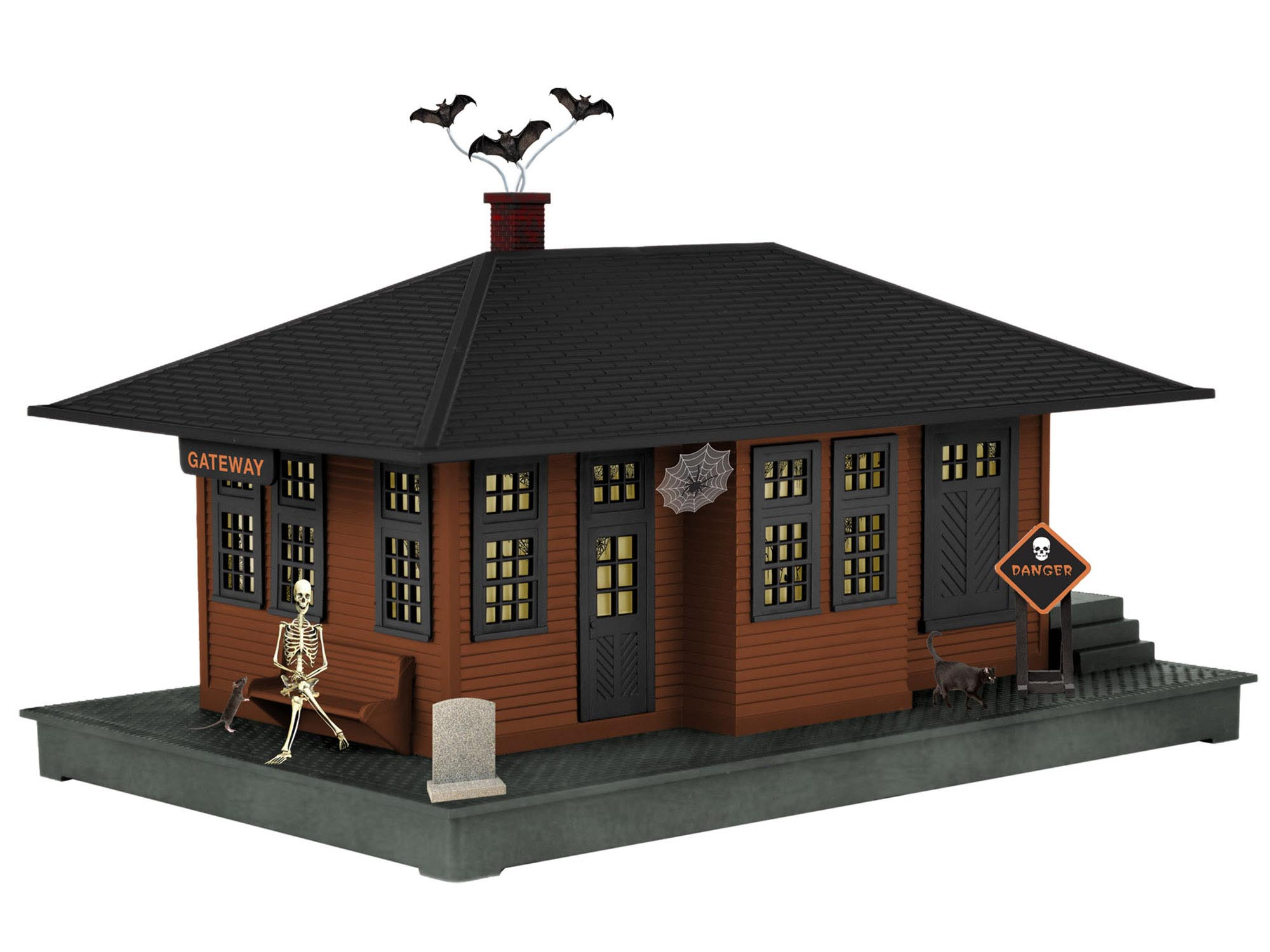 Lionel 637998 O Haunted Pass Station 434-637998 LNL637998