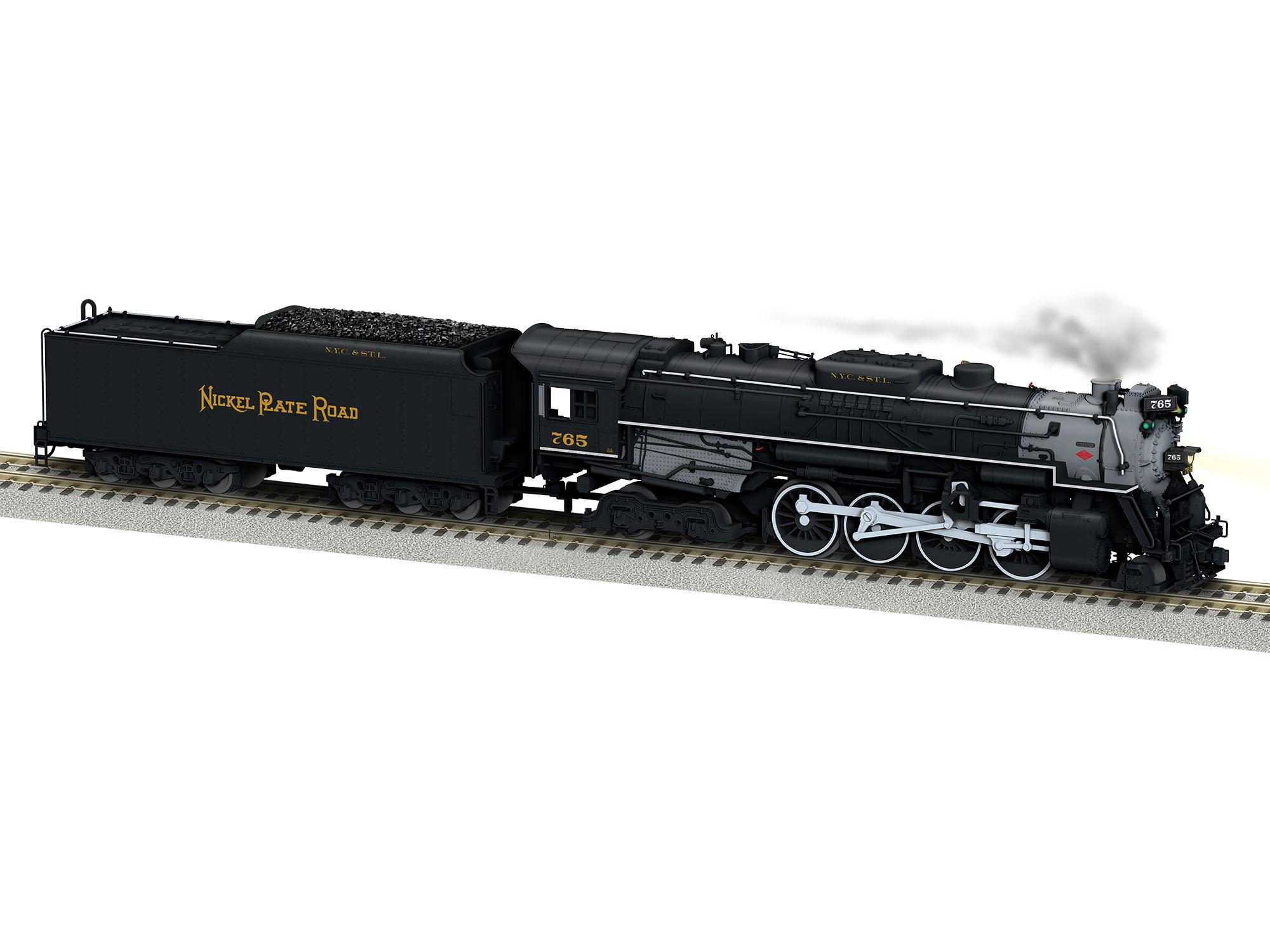 Lionel 644123 S AF Berkshire w/Legacy Nickle Plate NKP #765