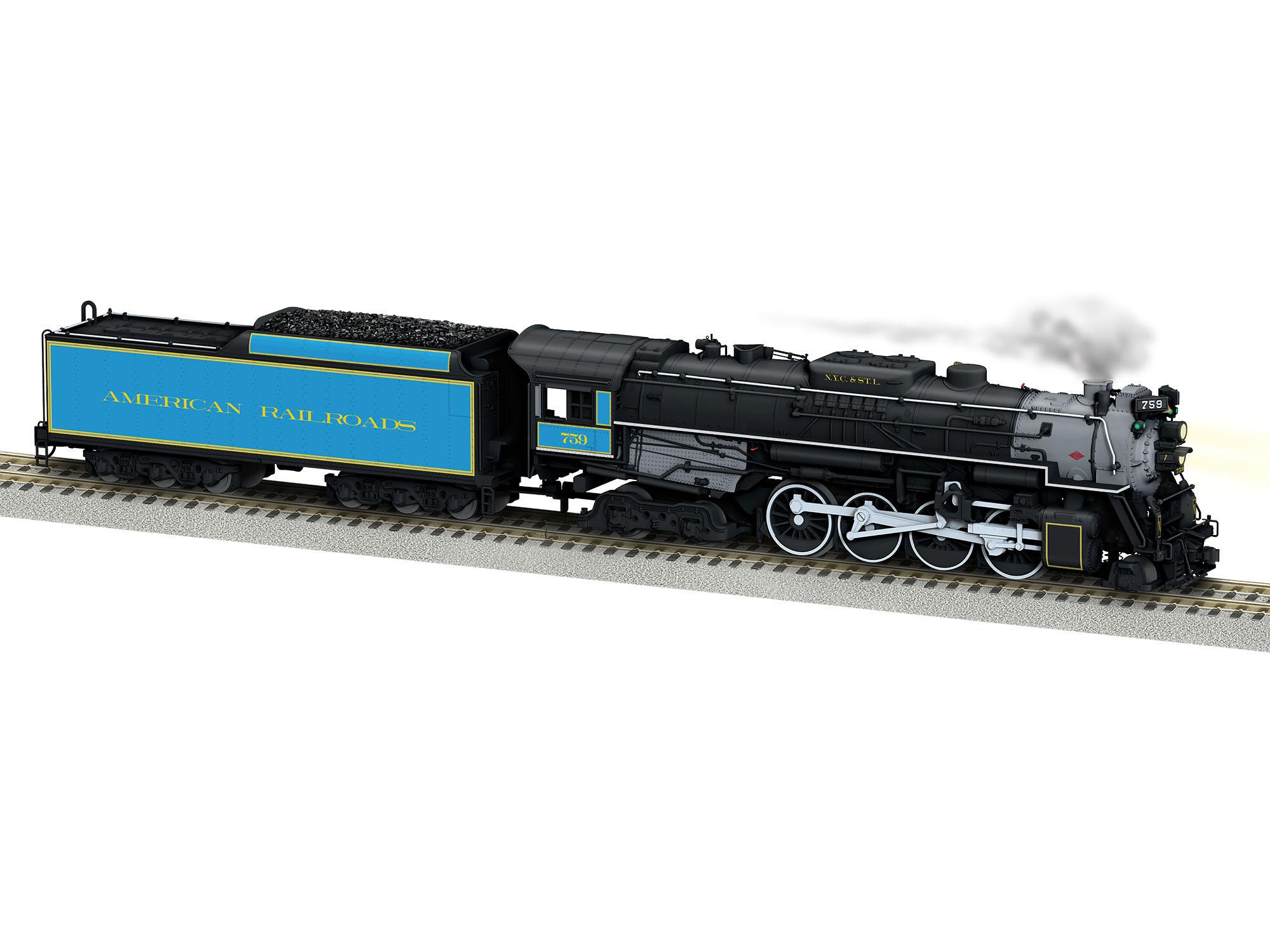Lionel 644127 S AF Berkshire w/Legacy American Railroads #759