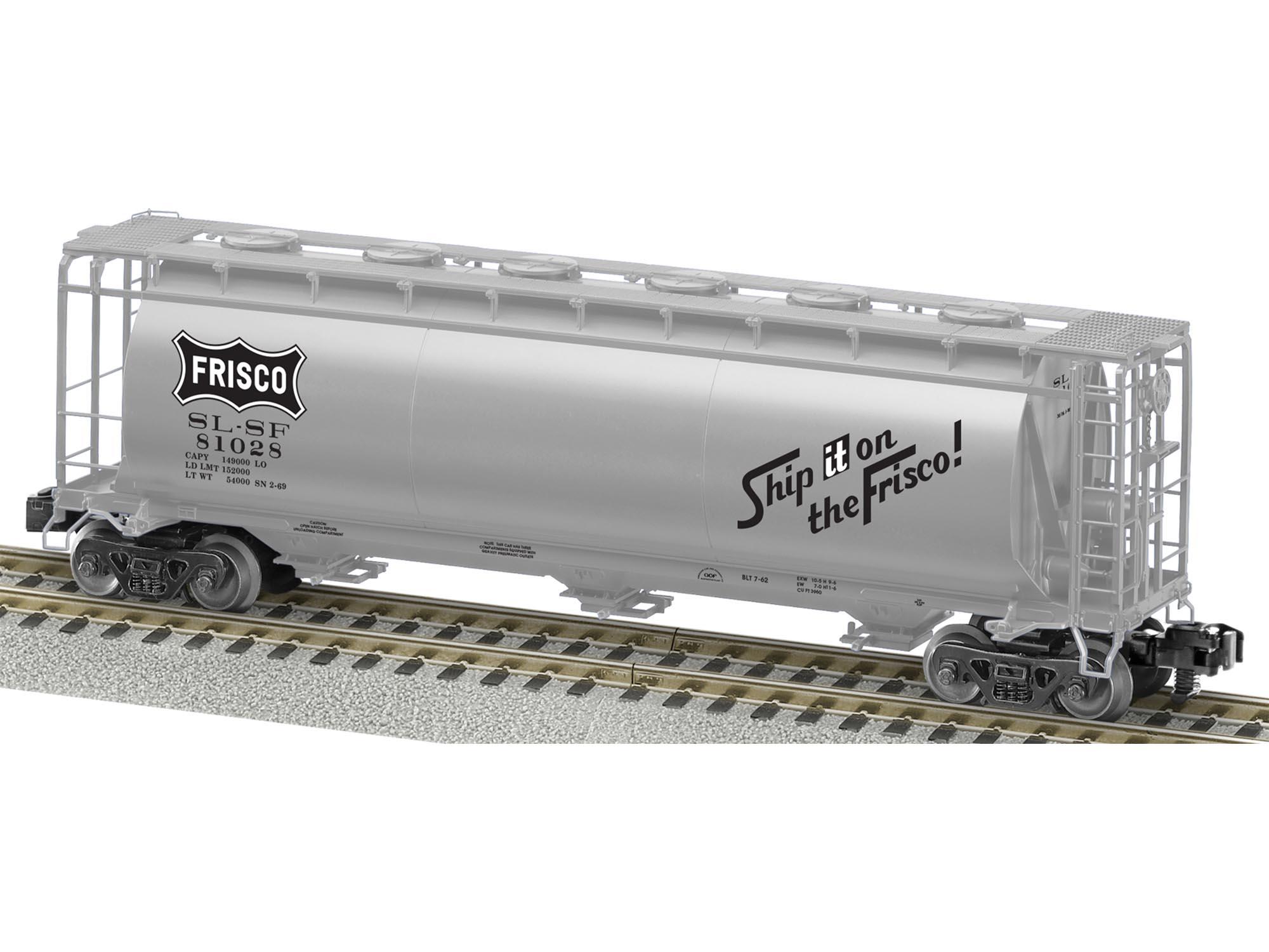 S AF Cylindrical Hopper, Frisco
