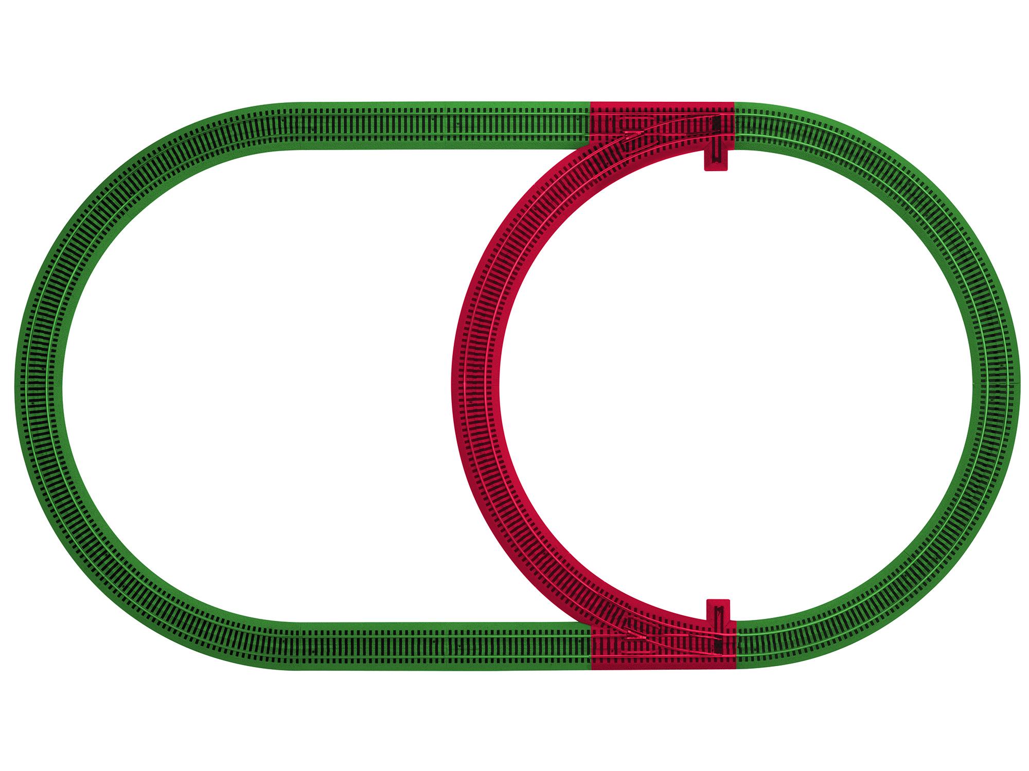 S AF FasTrack Inner Passing Loop Track Pack