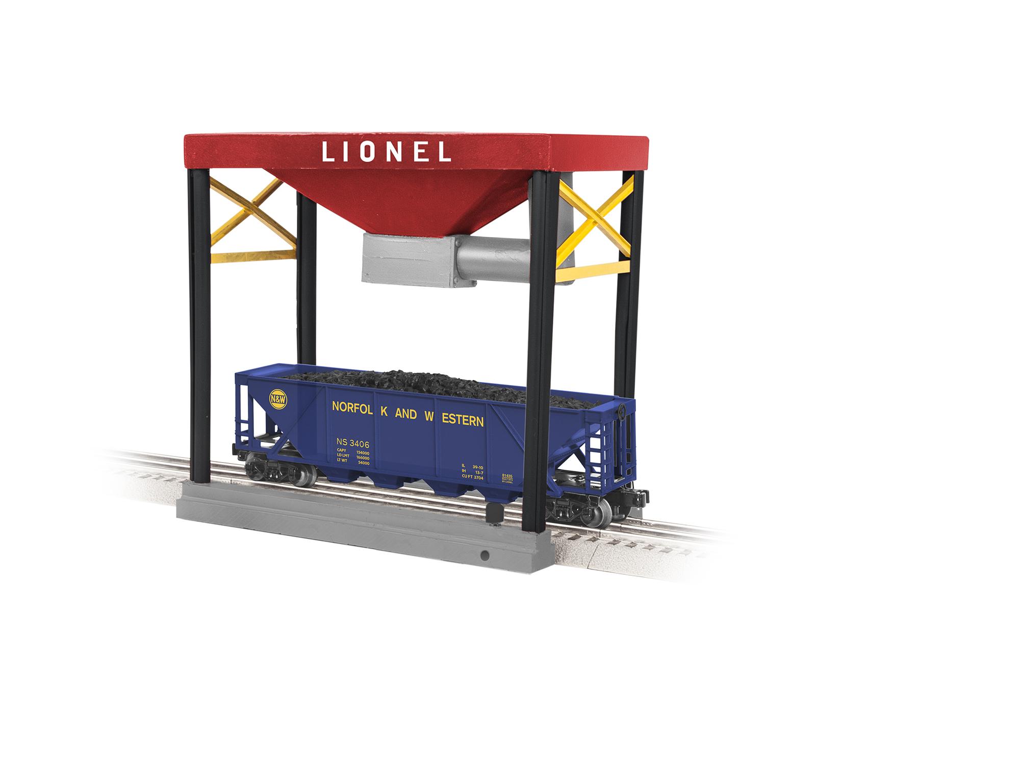 LNL681315 Lionel O Coaling Station/Plug-Expand-Play