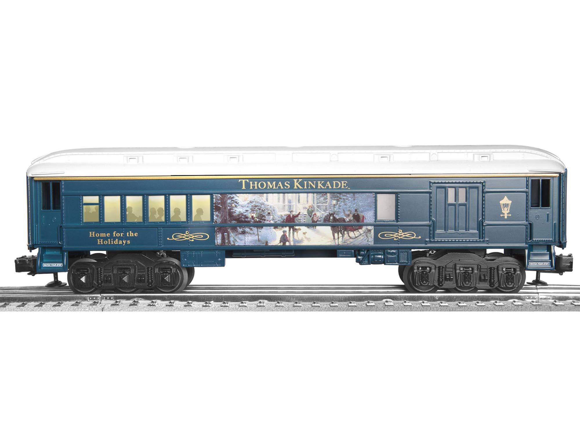 Thomas Christmas Train Set.Thomas Kinkade Christmas Lionchief Remote Set 0 8 0