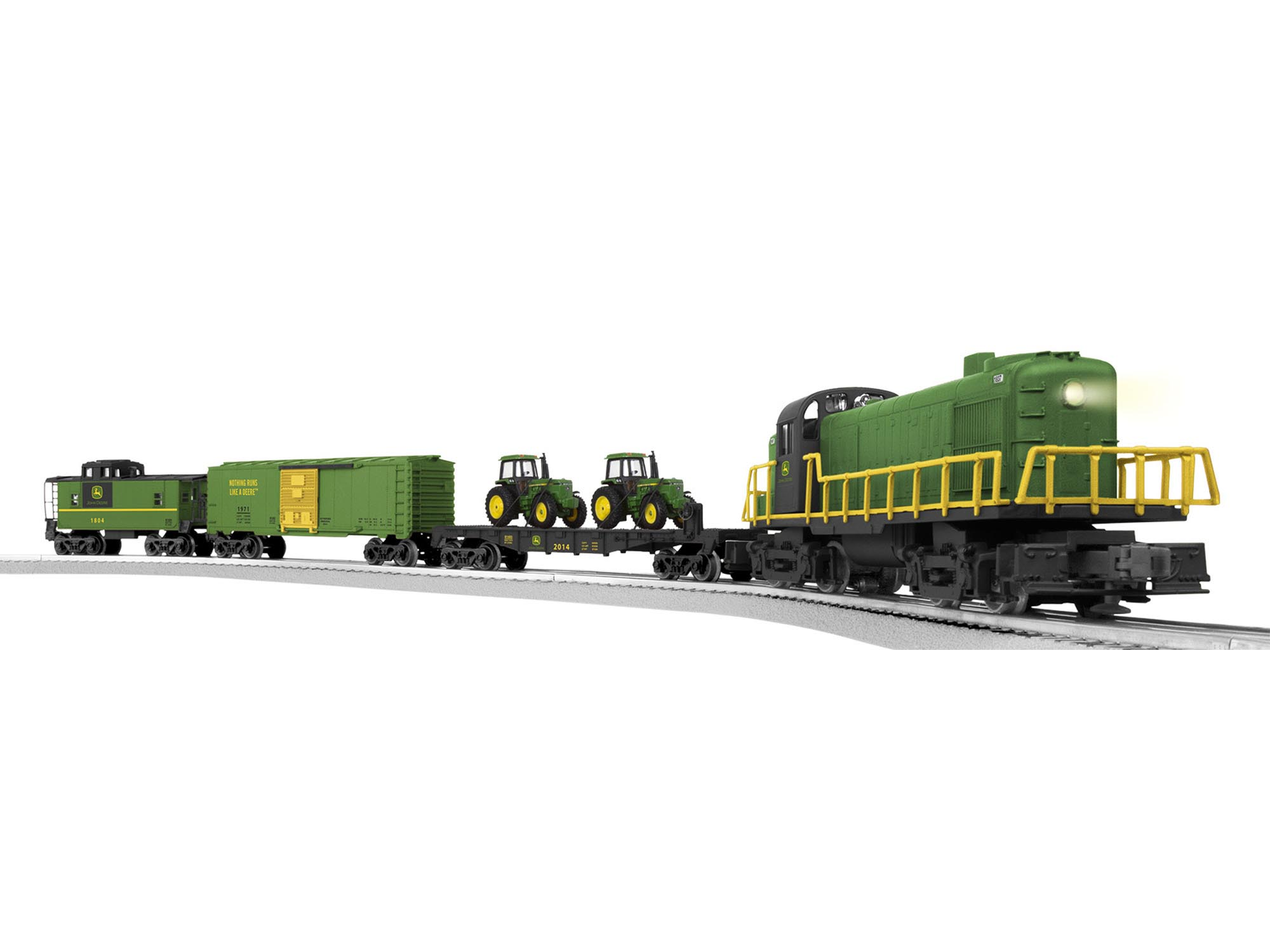 Lionel John Deere R5-3 Freight Set