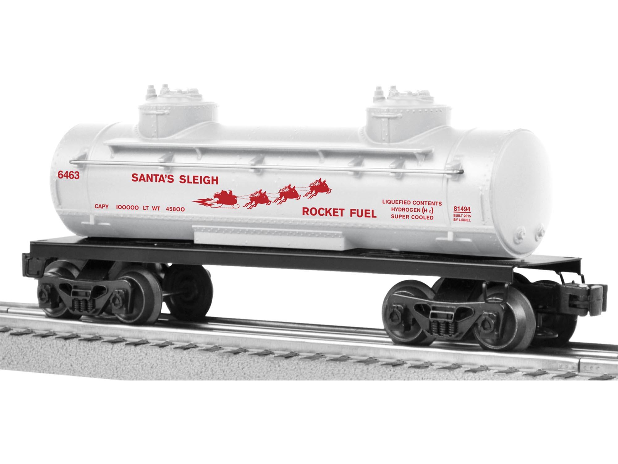 6463 santa s sleigh rocket fuel tank car rh lionel com AAR Cuda Wallpaper Cuda Car