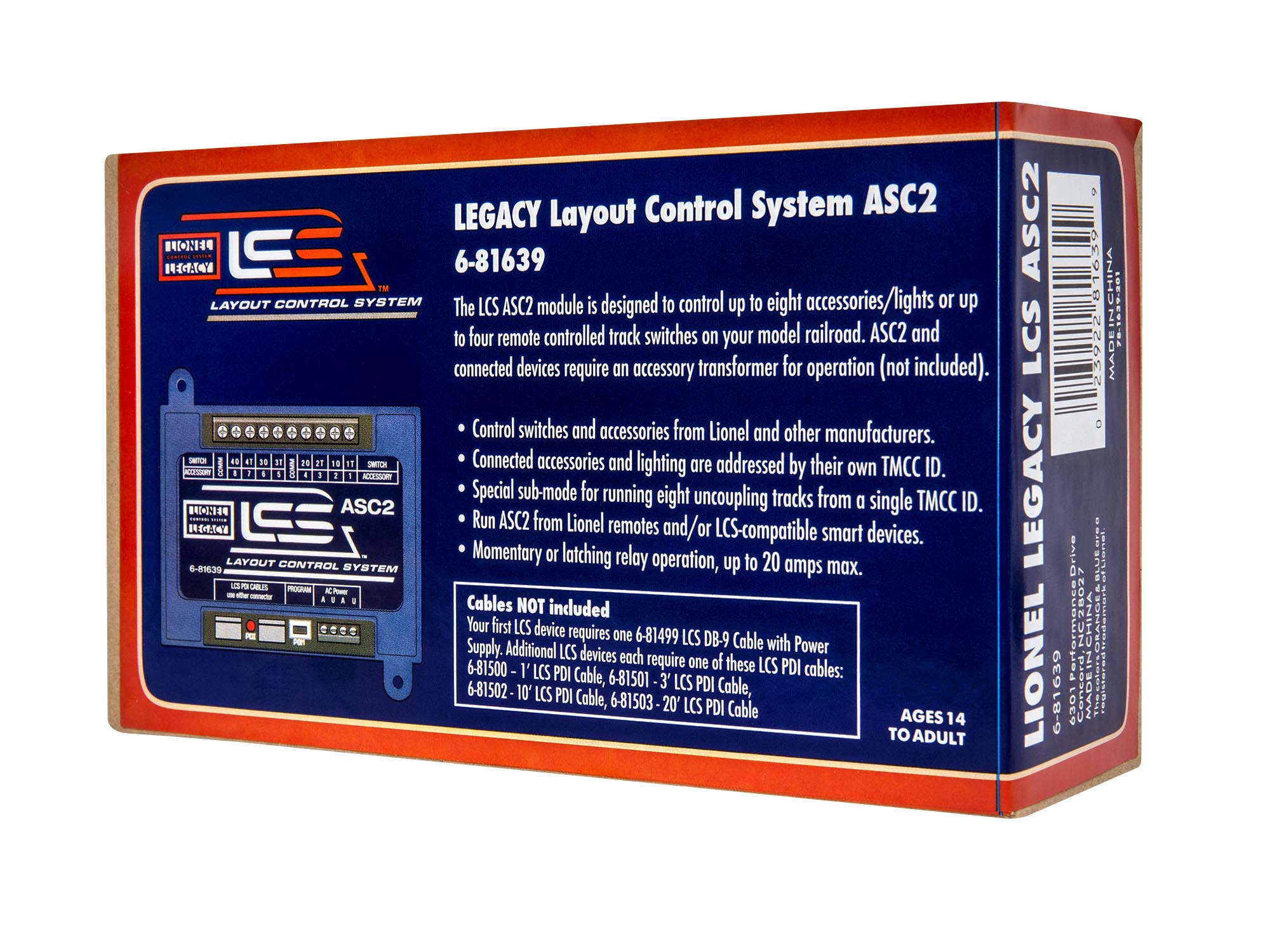 LCS Accessory Switch Controller 2 (ASC2)
