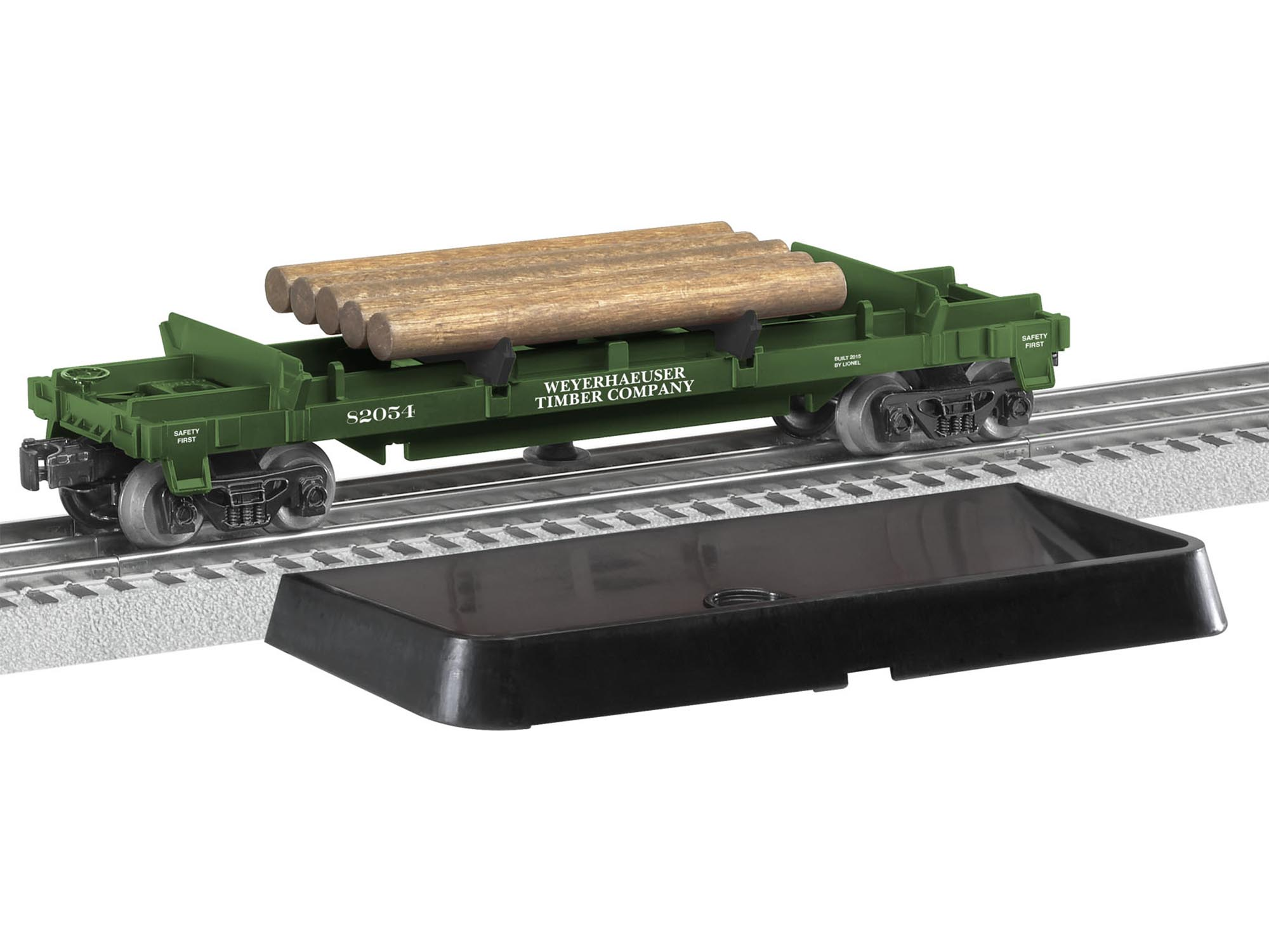 Dumps logs at th...O27 Gauge Train Track