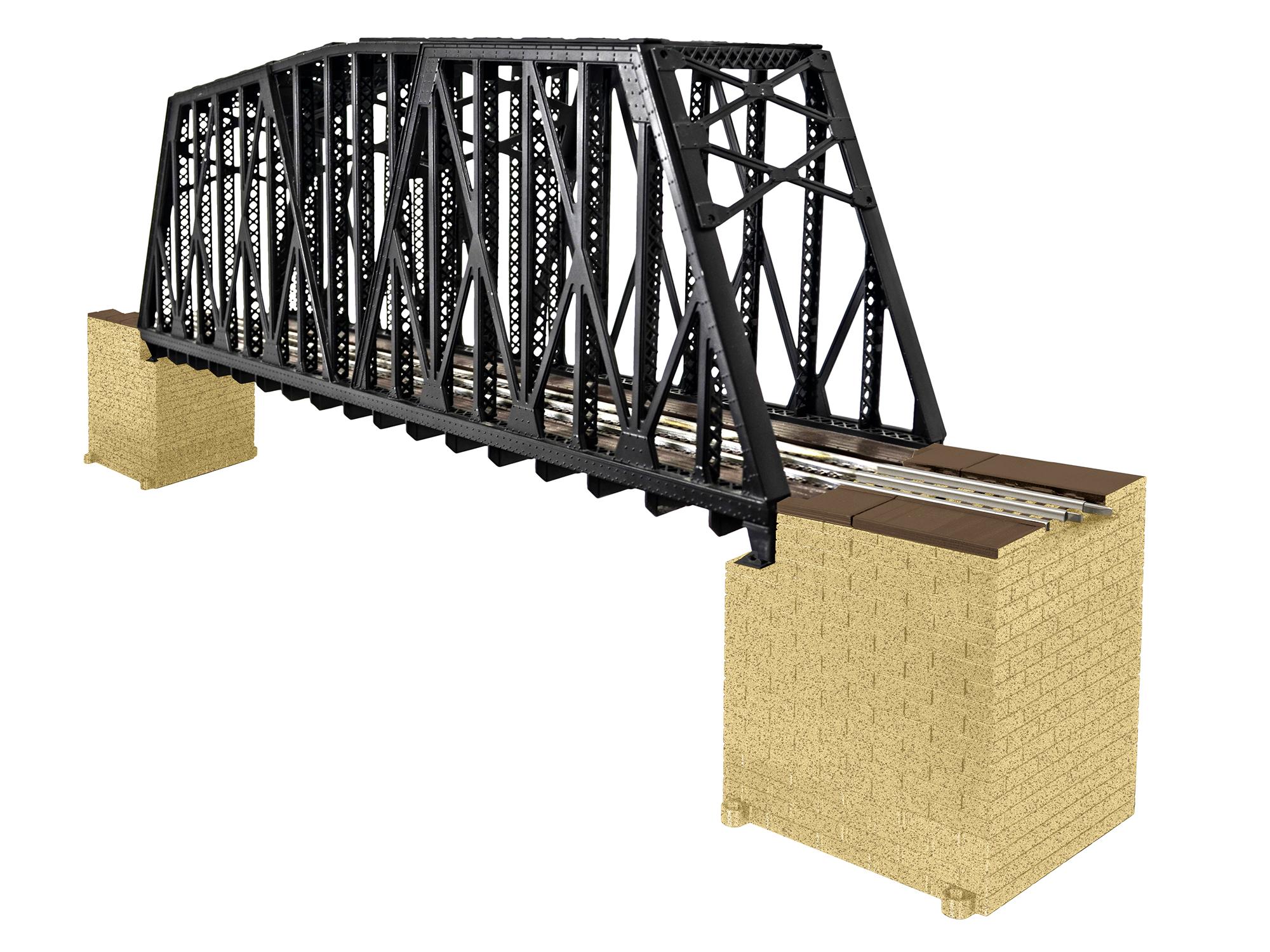 LNL682110 Lionel O Extended Truss Bridge 434-682110