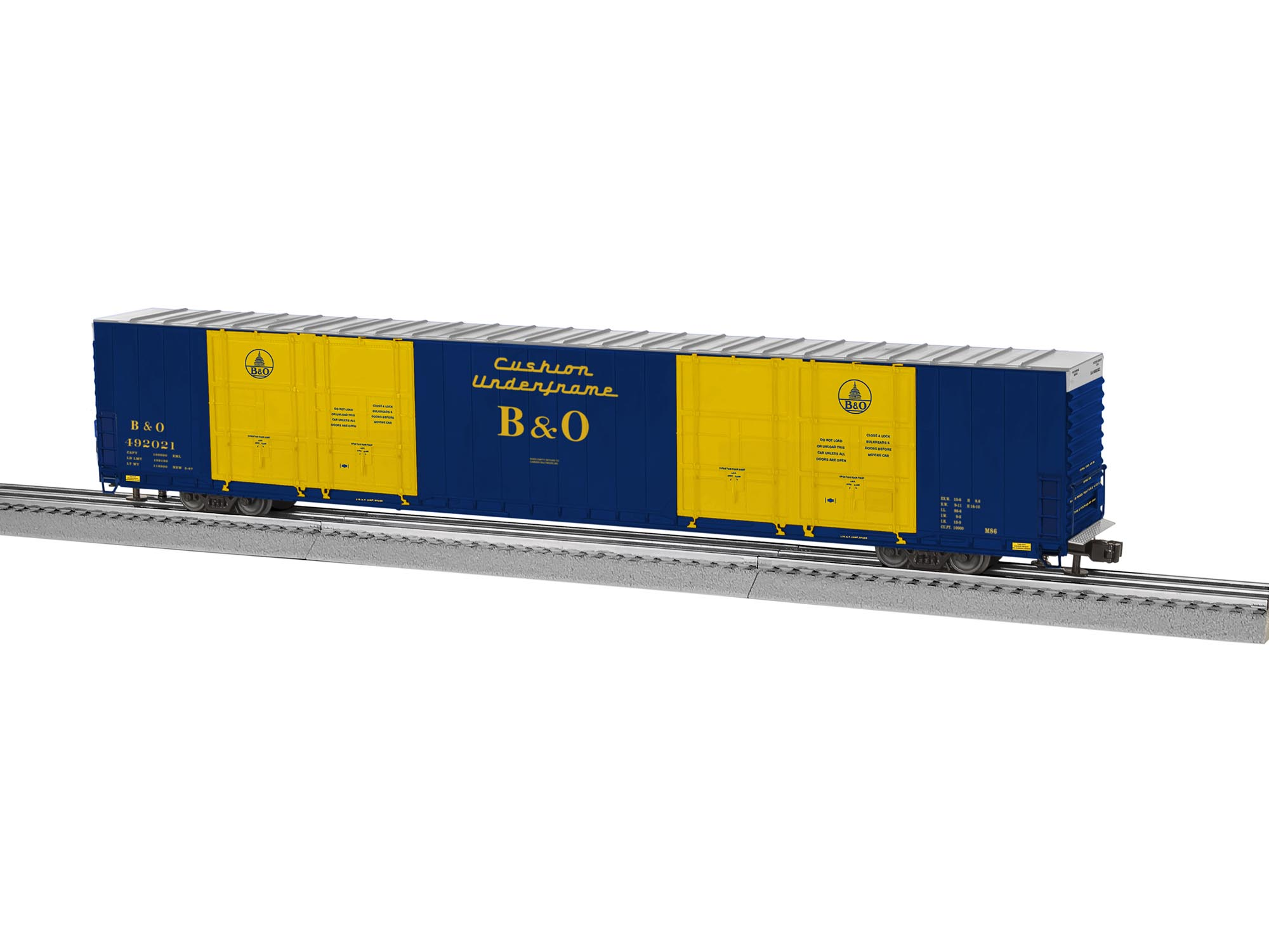 1500 #CAA501 Baltimore & Ohio 8 Door Hi Cube Boxcar pic Oh Doors 36612000