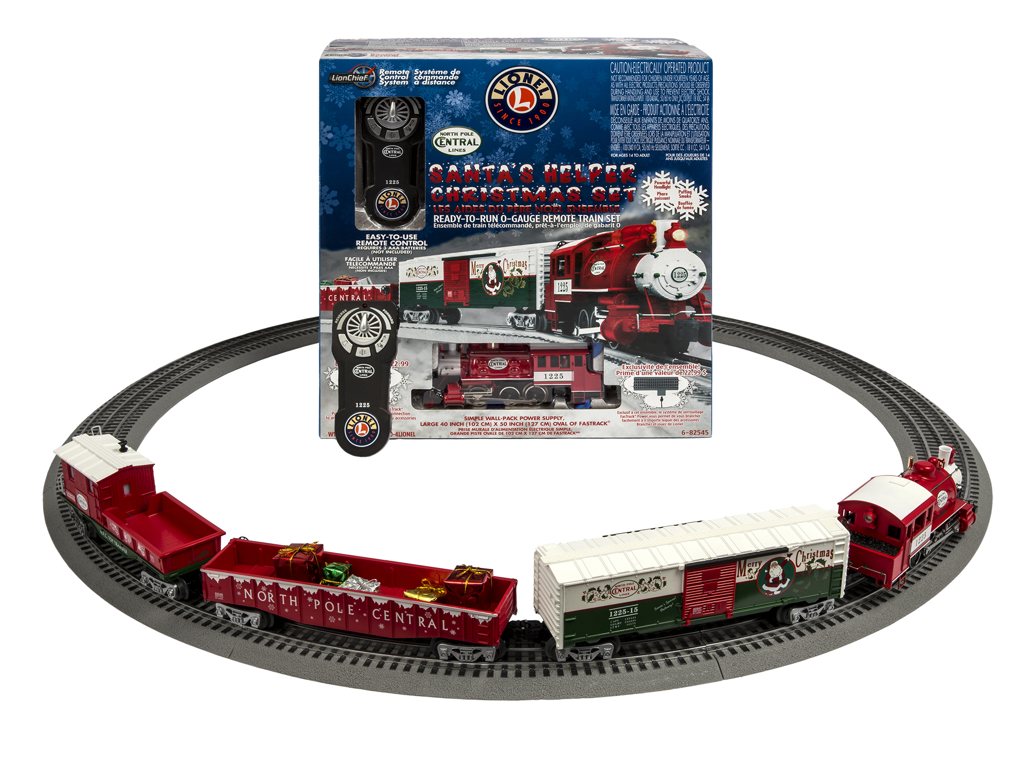 Special Offer: Santau0027s Helper Christmas LionChief™ Train Set