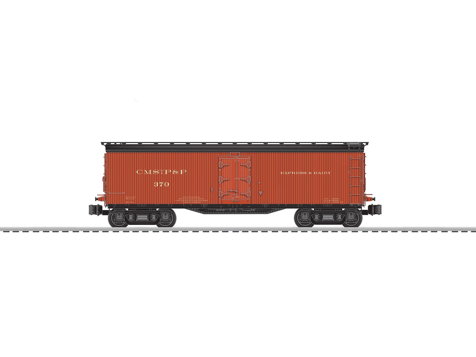 Lionel 682639 O Milk Car Scale 3-Rail Milwaukee Road