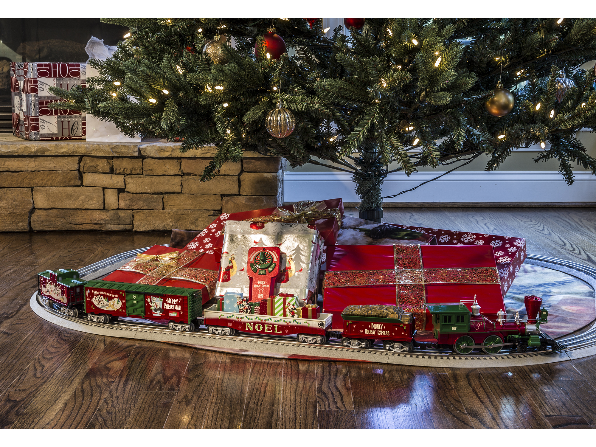 Christmas Train For Around Tree