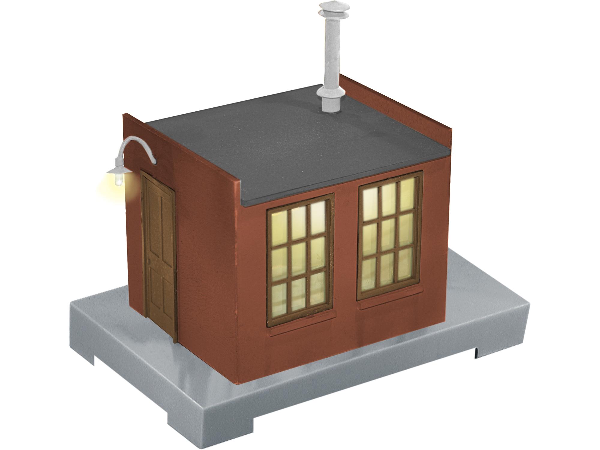 O Early Intermodal Work House w/Sounds