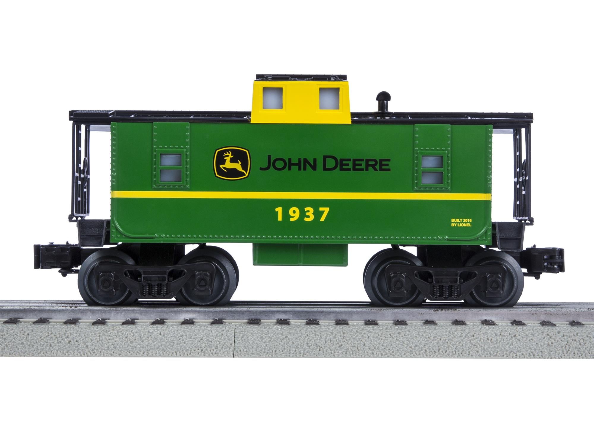LIONEL JOHN DEERE STEAM LIONCHIEF REMOTE CONTROL TRAIN SET o gauge 6-83286 NEW