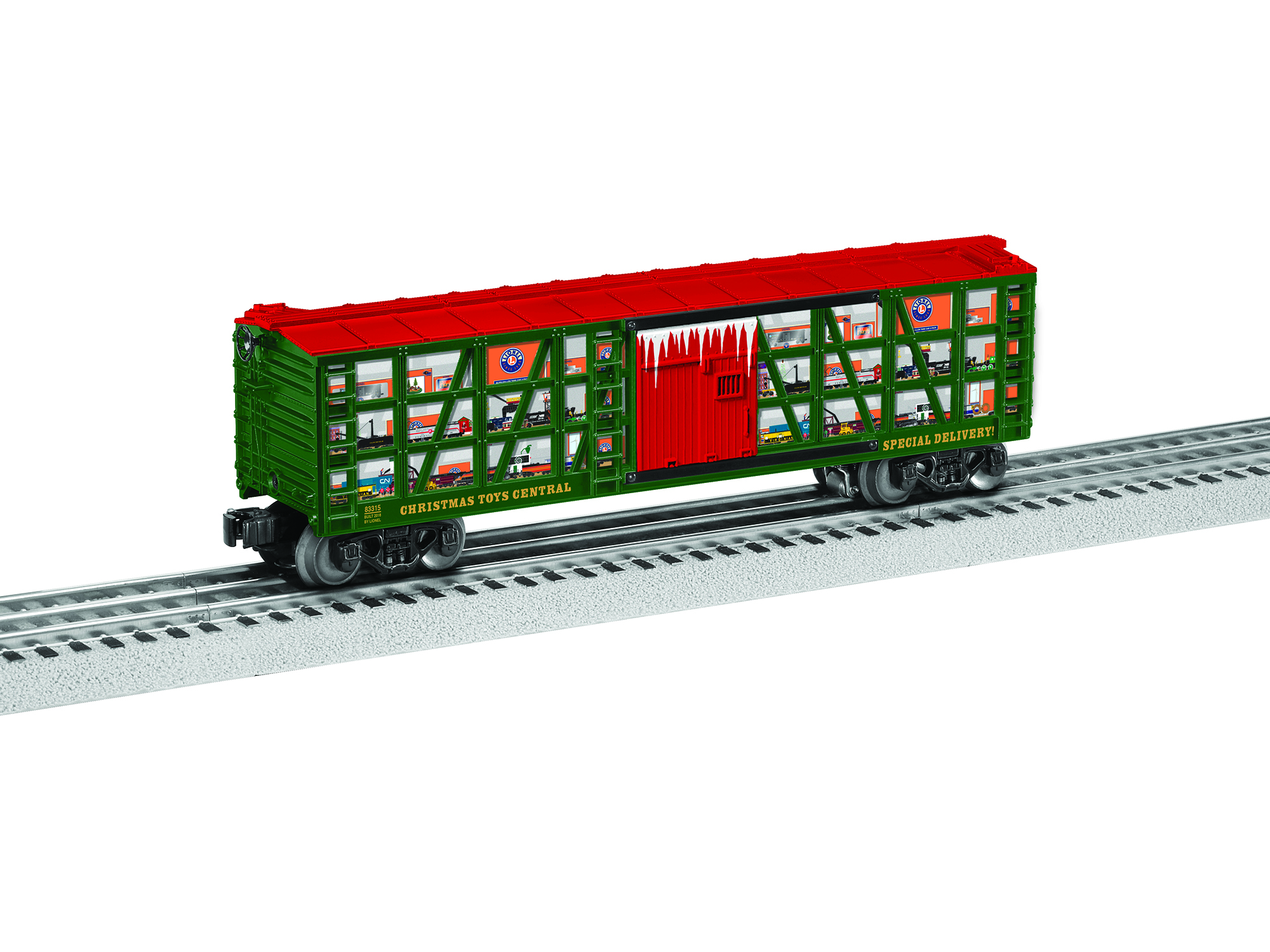 Lionel 683315 O Stock Car 3-Rail Christmas Toys