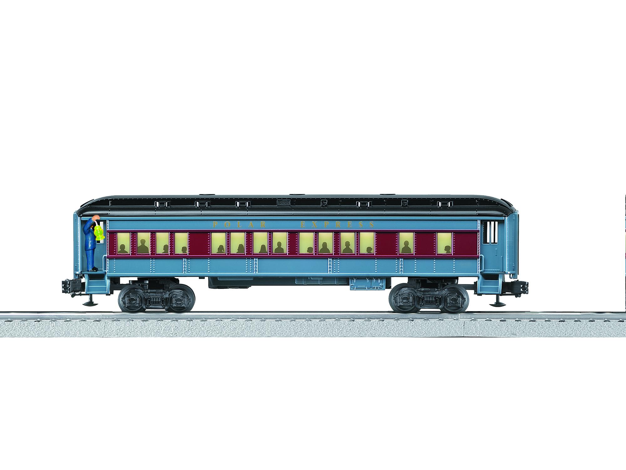 LNL683437 Lionel O-27 Announcement Car, Polar Express