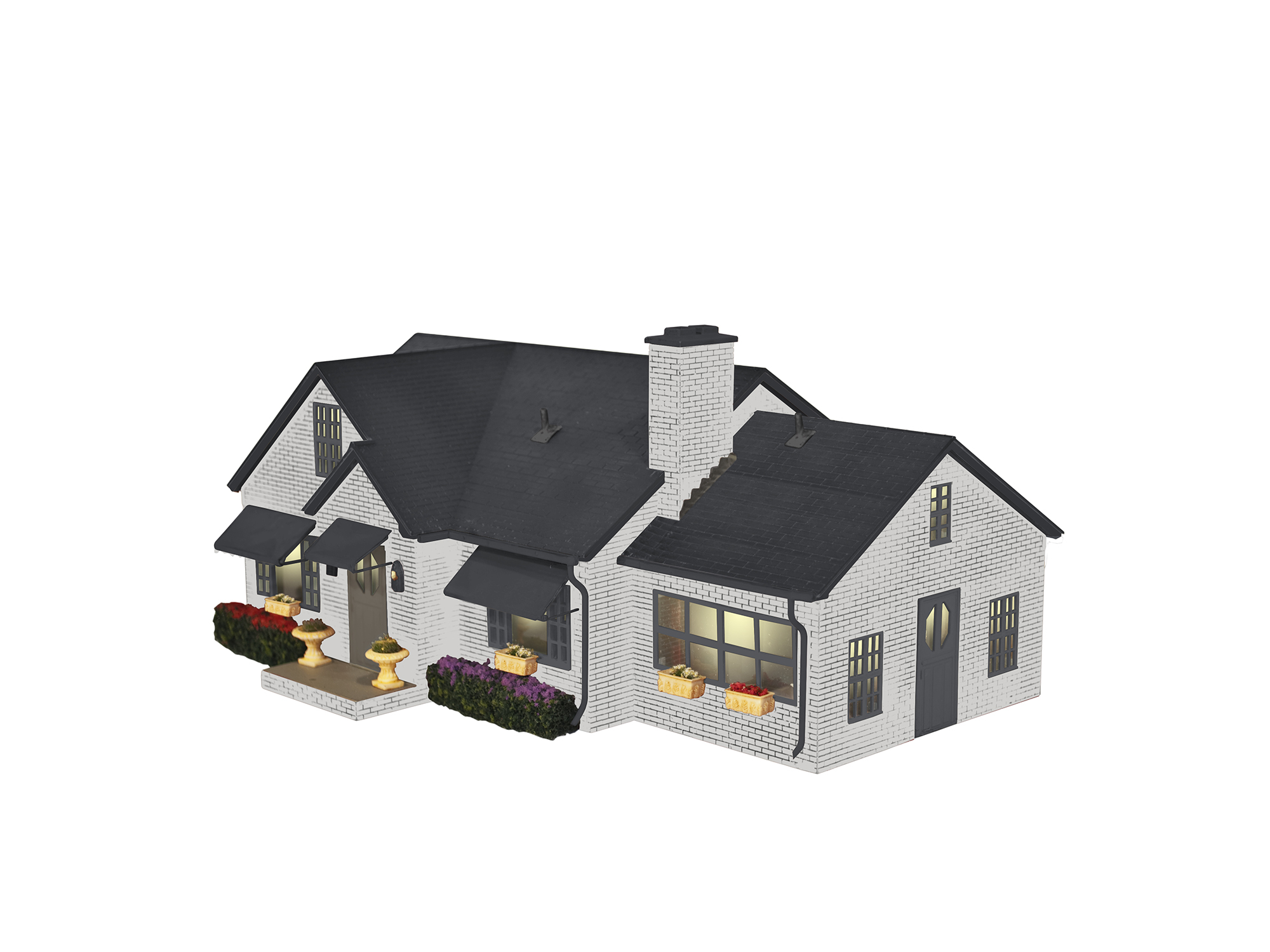 LNL683443 Lionel O Deluxe Suburban House/Plug-Expand-Play