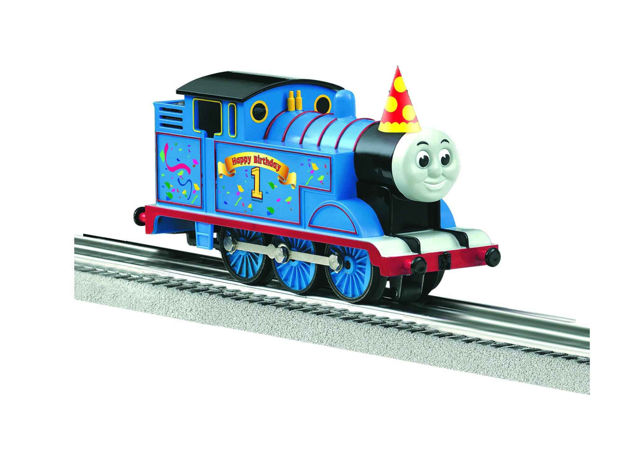 O-27 Locomotive, Thomas/Birthday w/Remote