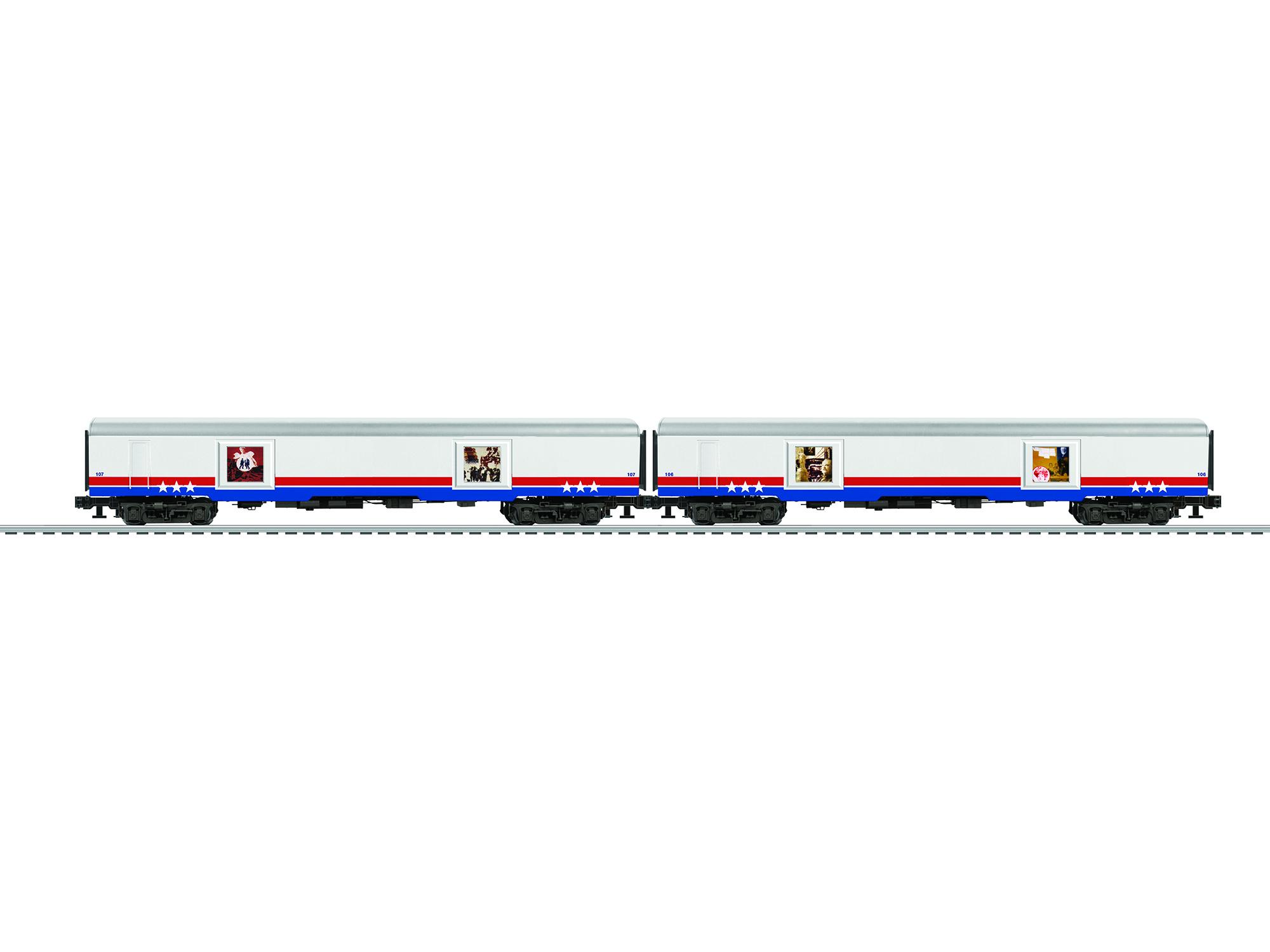 LNL683589 Lionel O Passenger, American Freedom Train #1 (2)