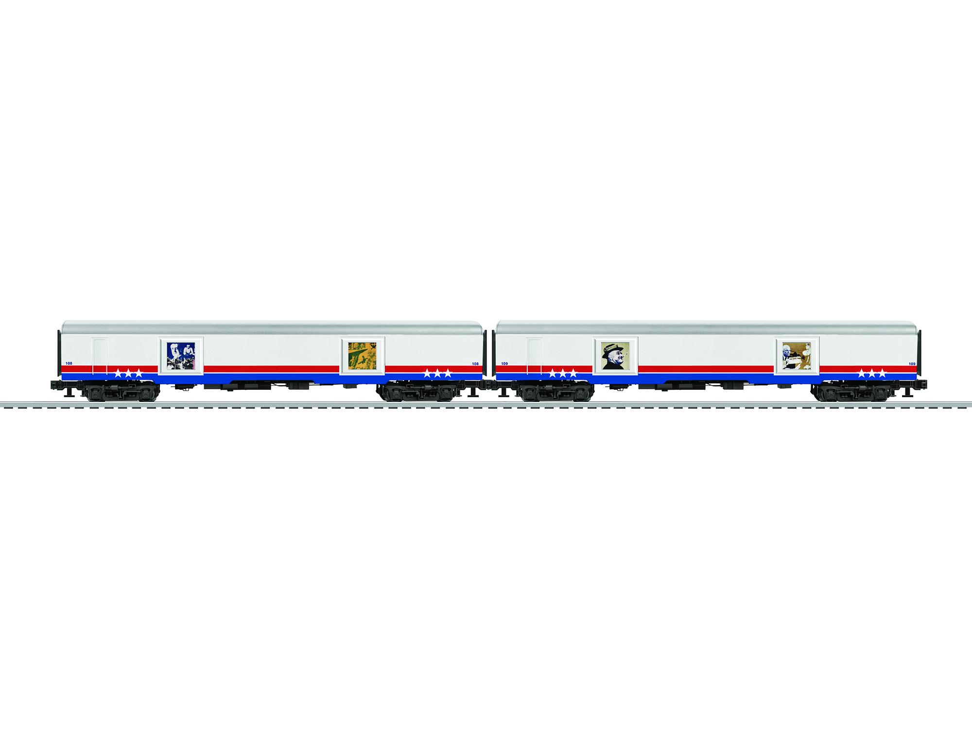 LNL683592 Lionel O Passenger, American Freedom Train #2 (2)