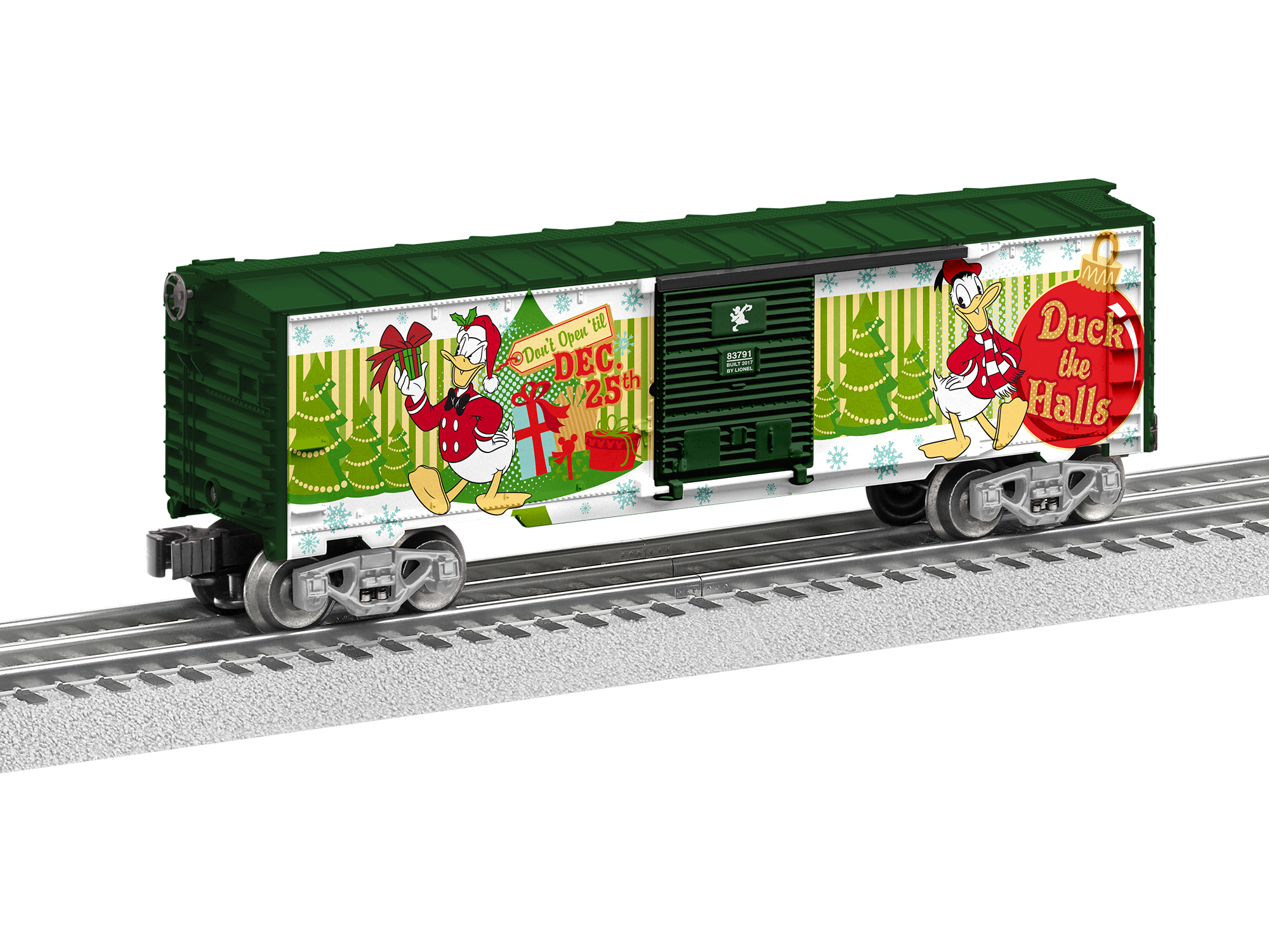 Lionel 683791 O D Duck Happy Holidays BC 434-683791 LNL683791