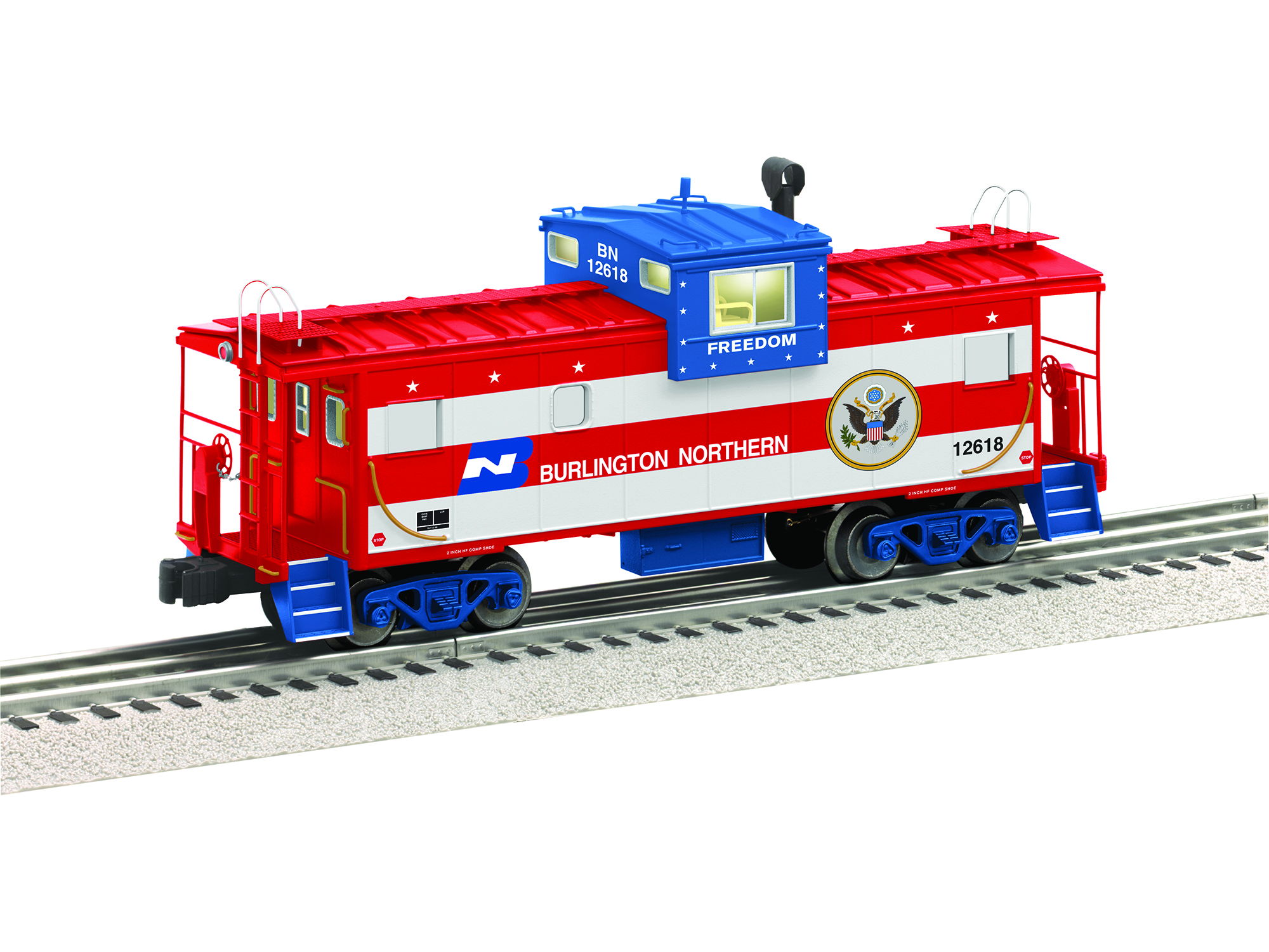 O-27 Wide Vision Caboose, BN