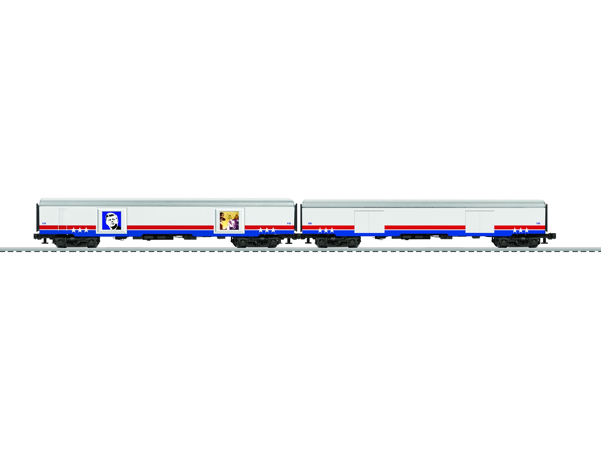 LNL684226 Lionel O Passenger, American Freedom Train #4 (2)