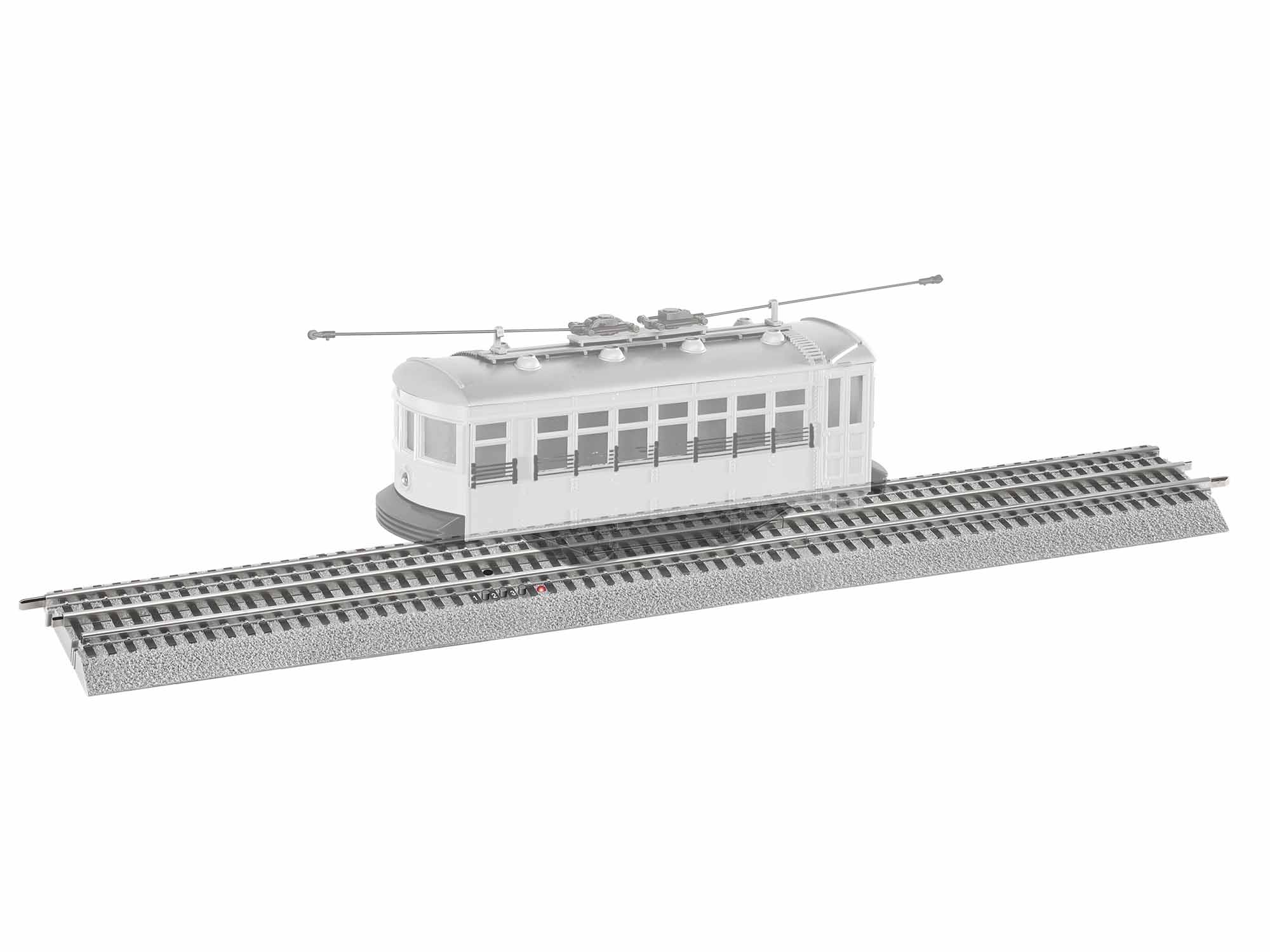 Lionel 684373 O Trolley Announcement Track Section FasTrack 15""