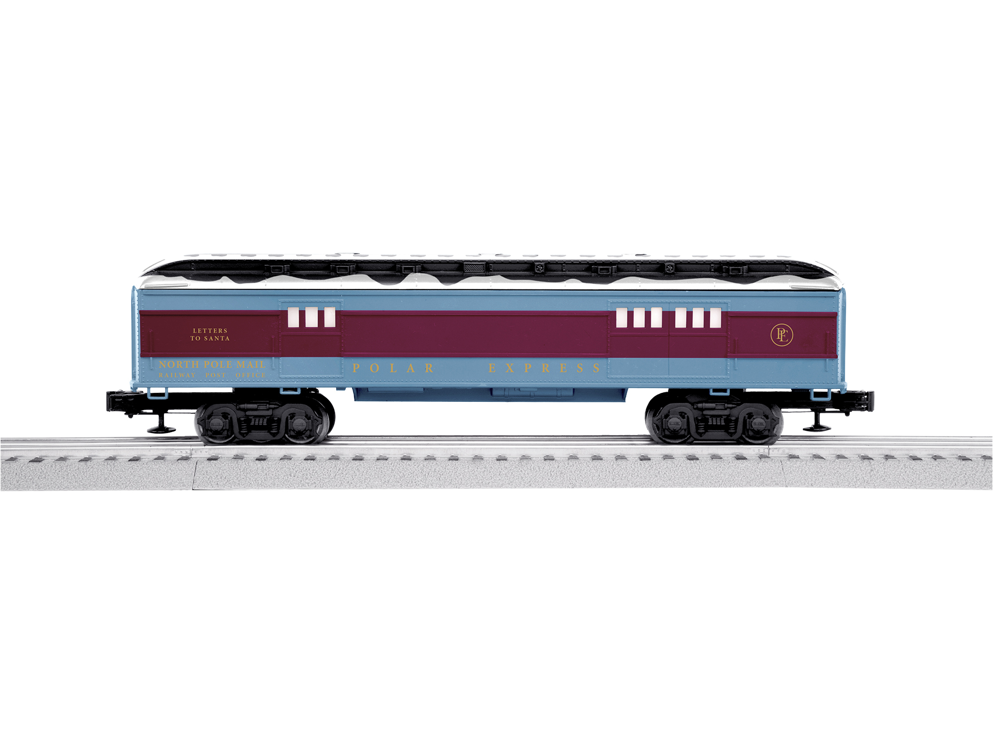 LNL684601 Lionel O-27 Mail Car, The Polar Express/Letters to Santa