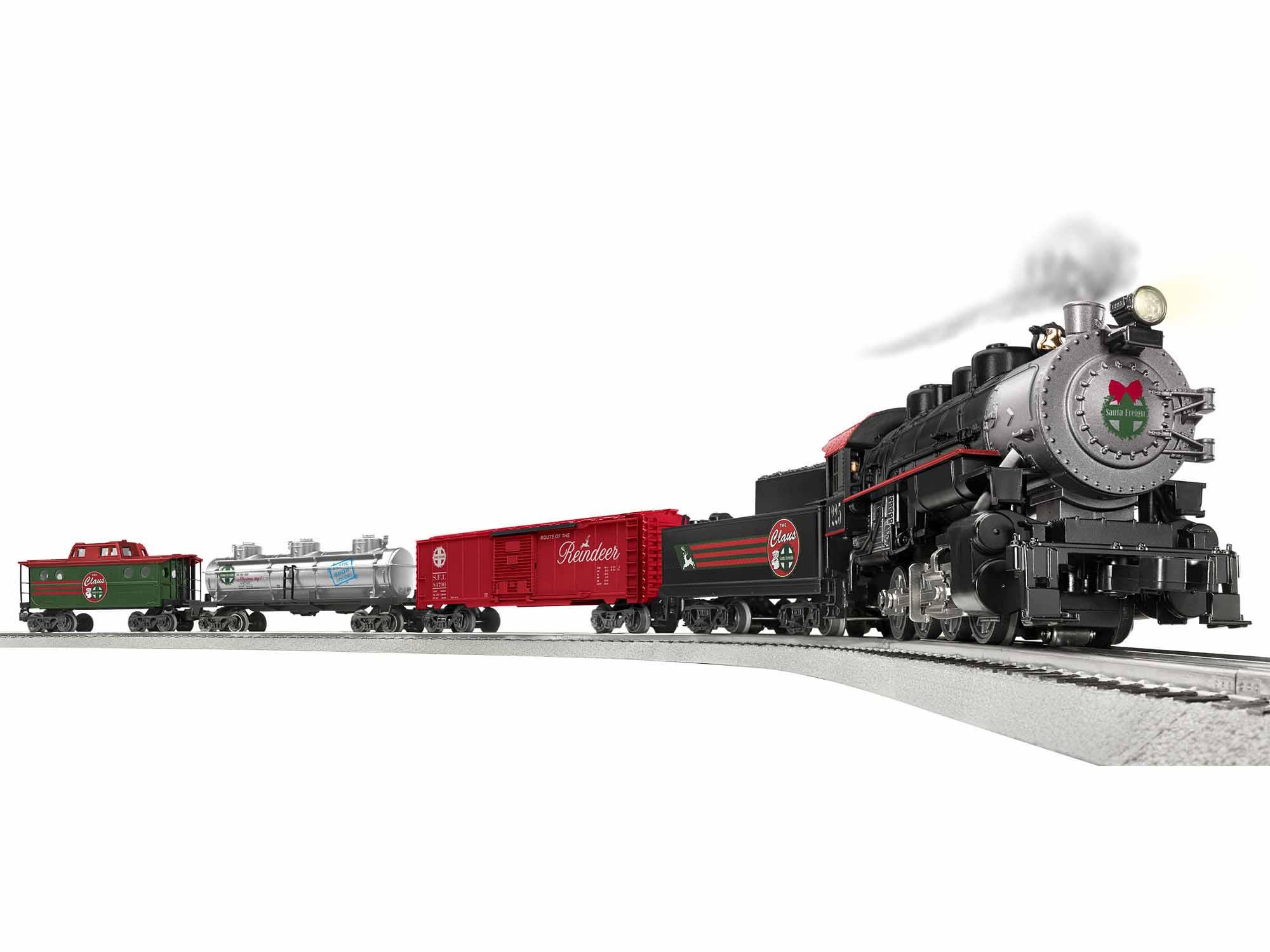 Lionel 684787 O Santa Freight Lines Set Lion Chief 434-684787