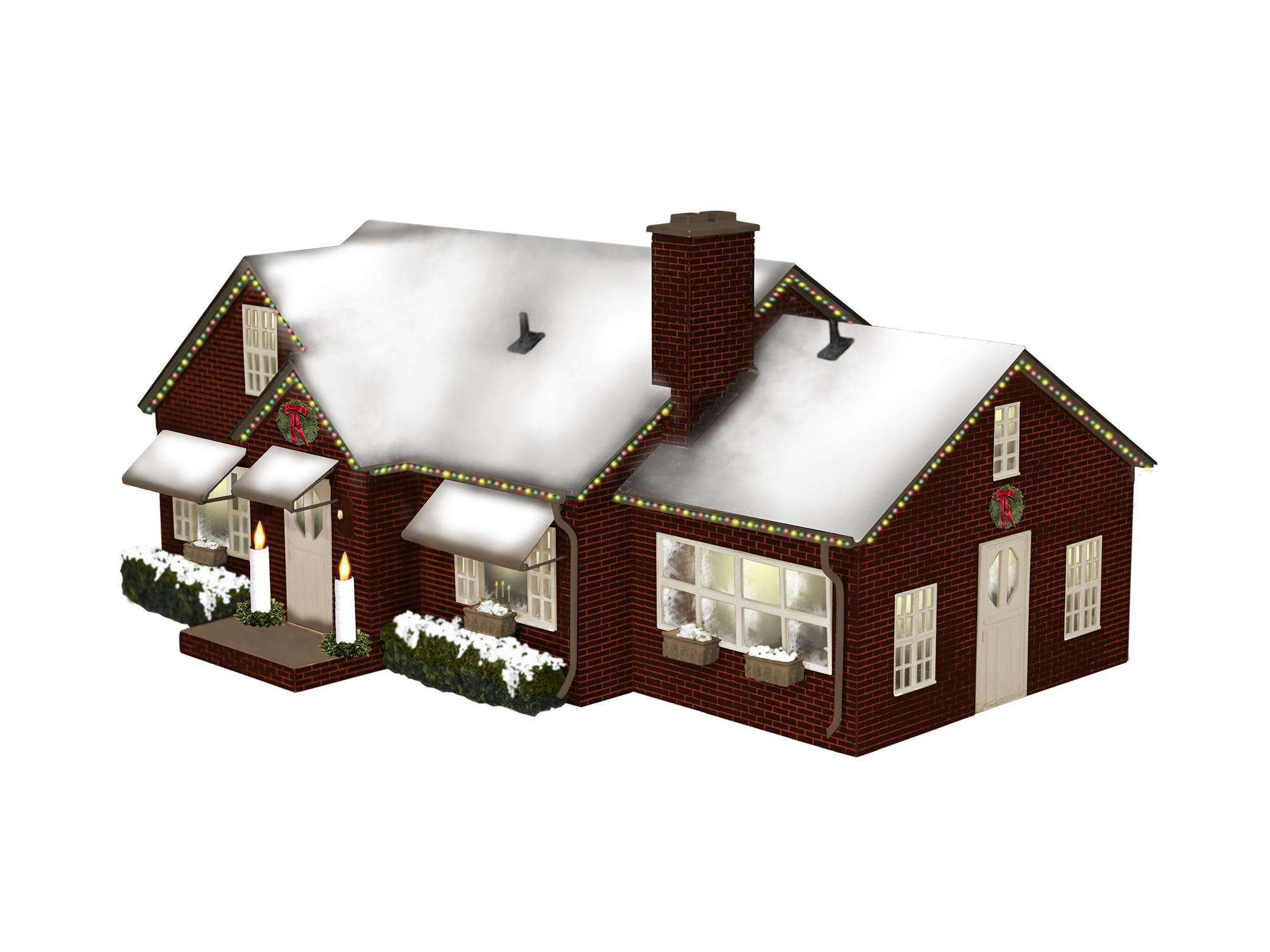 LNL684795 Lionel O Deluxe Christmas House
