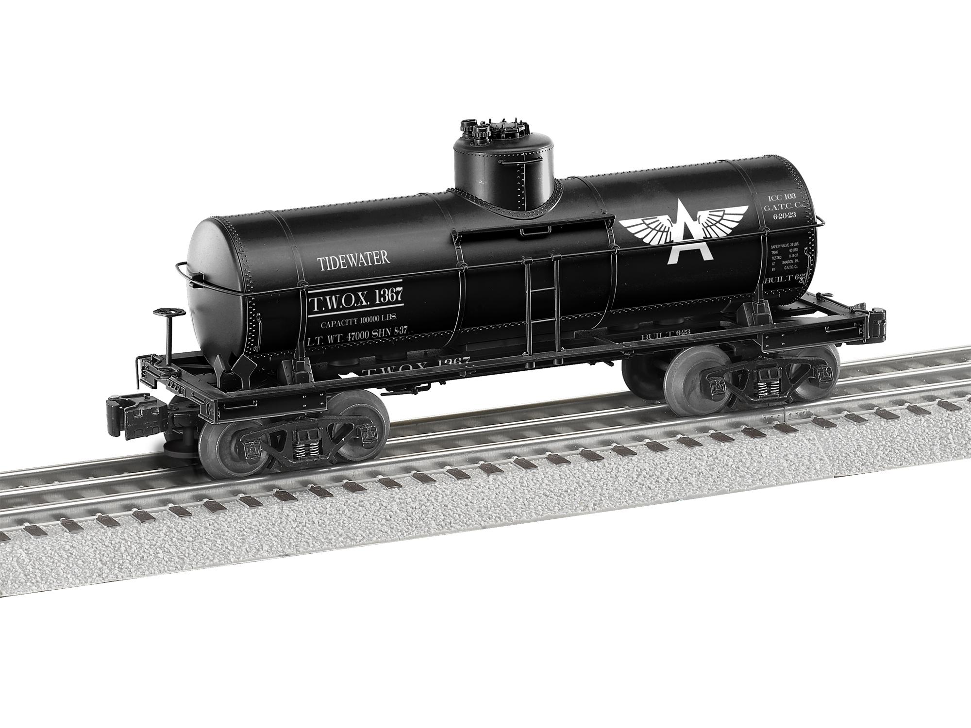 LNL684803 Lionel O 8K TankCar Tidewater 434-684803