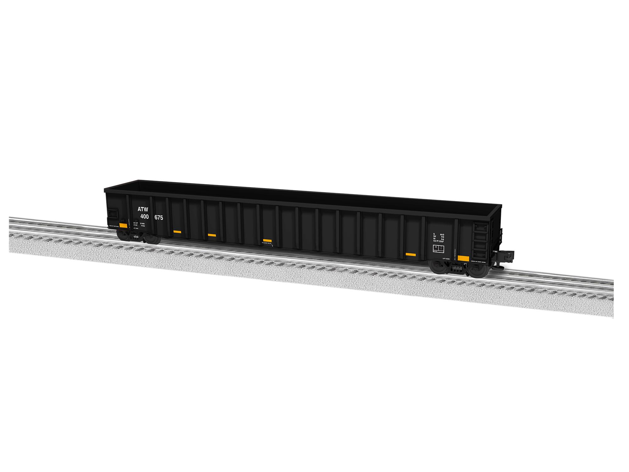 LNL684836 Lionel O 66' Mill Gondola, Atlantic & Western #400675