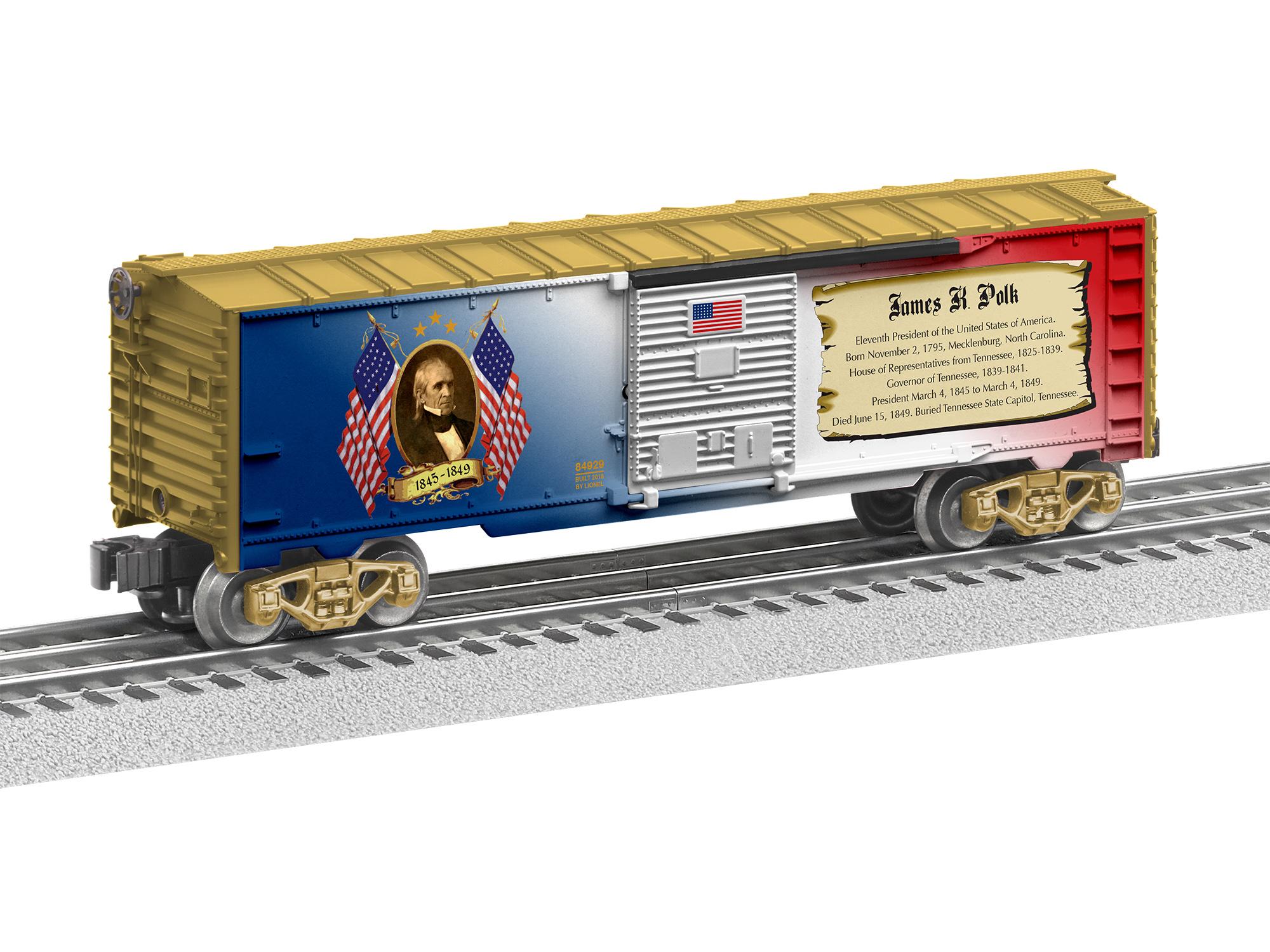 LNL684929 Lionel O-27 Box, James K. Polk