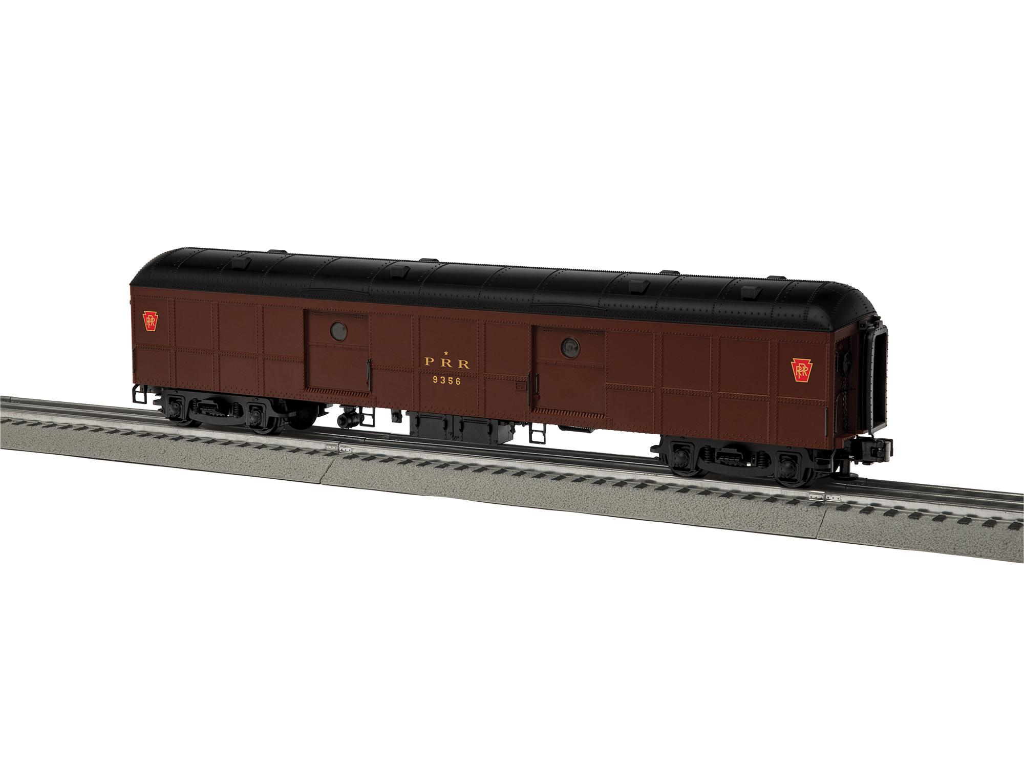 LNL684993 Lionel O B60 Round Roof Baggage/1960, PRR #9356