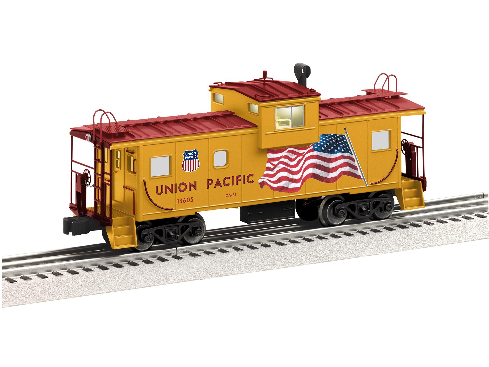 Union Pacific Wide Vision Caboose w/ Camera #13605