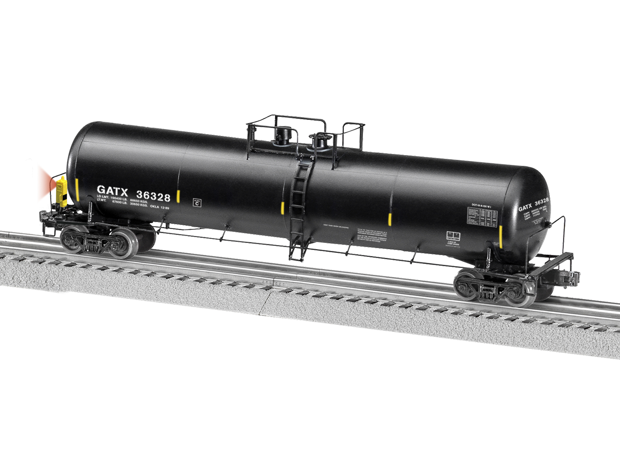 O 30K Gallon Tank w/EOT, GATX #36328