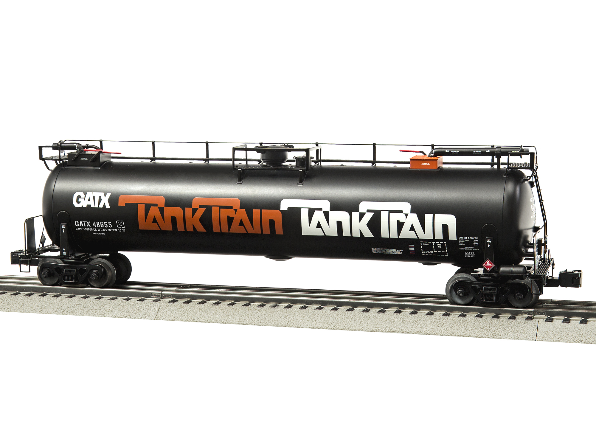 O TankTrain Intermediate Car, Orange#4